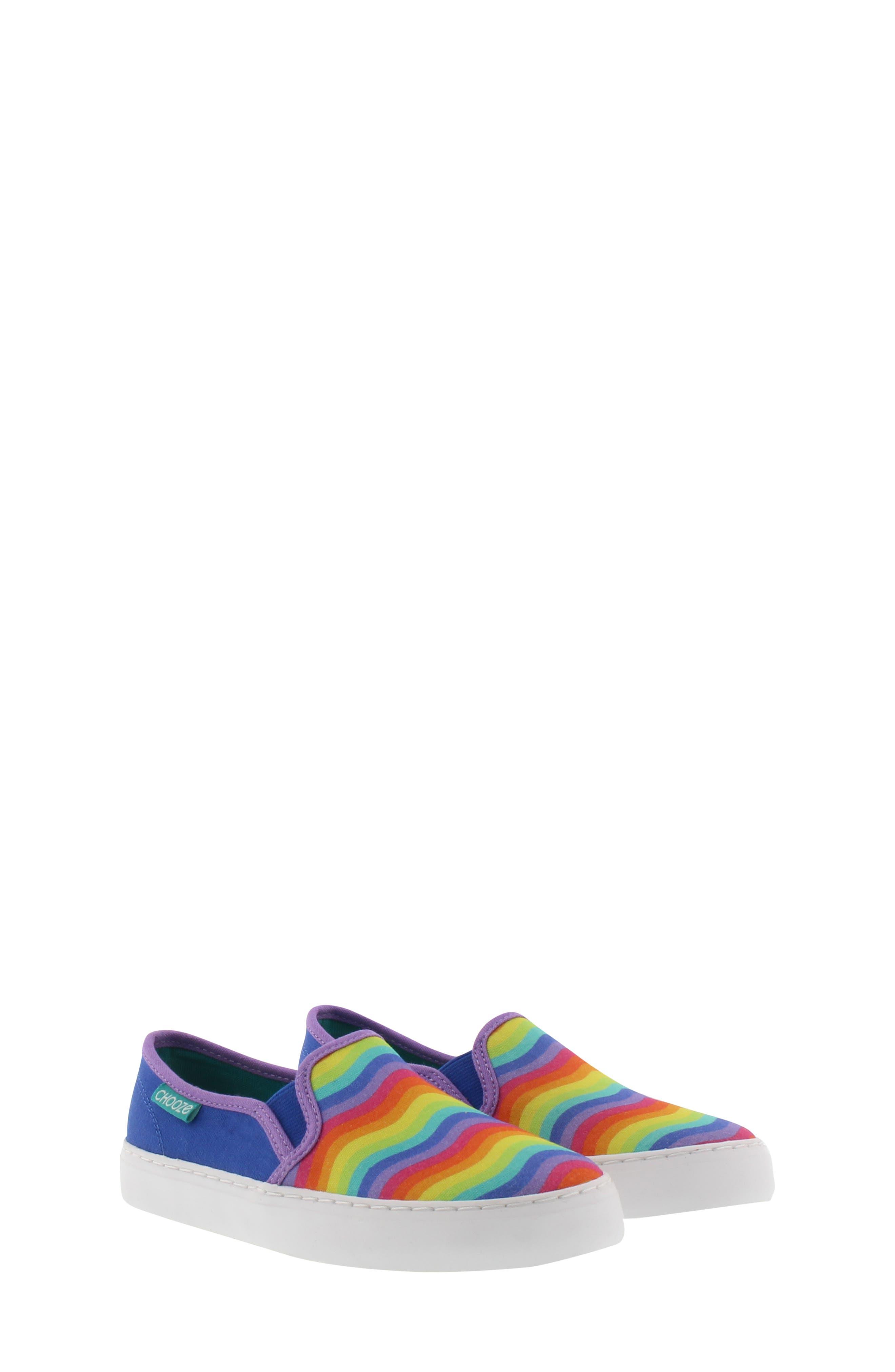CHOOZE, Motion Slip-On Sneaker, Main thumbnail 1, color, BLUE MULTI