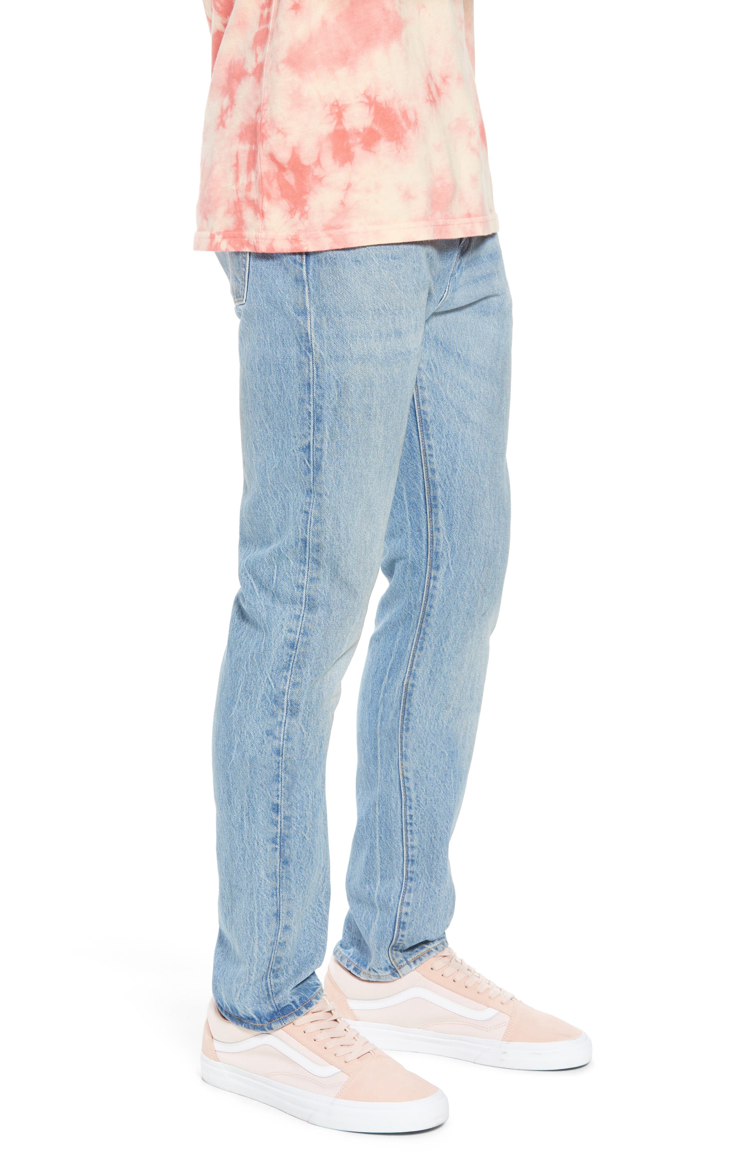 LEVI'S<SUP>®</SUP>, 510<sup>™</sup> Skinny Fit Jeans, Alternate thumbnail 4, color, MONKEY