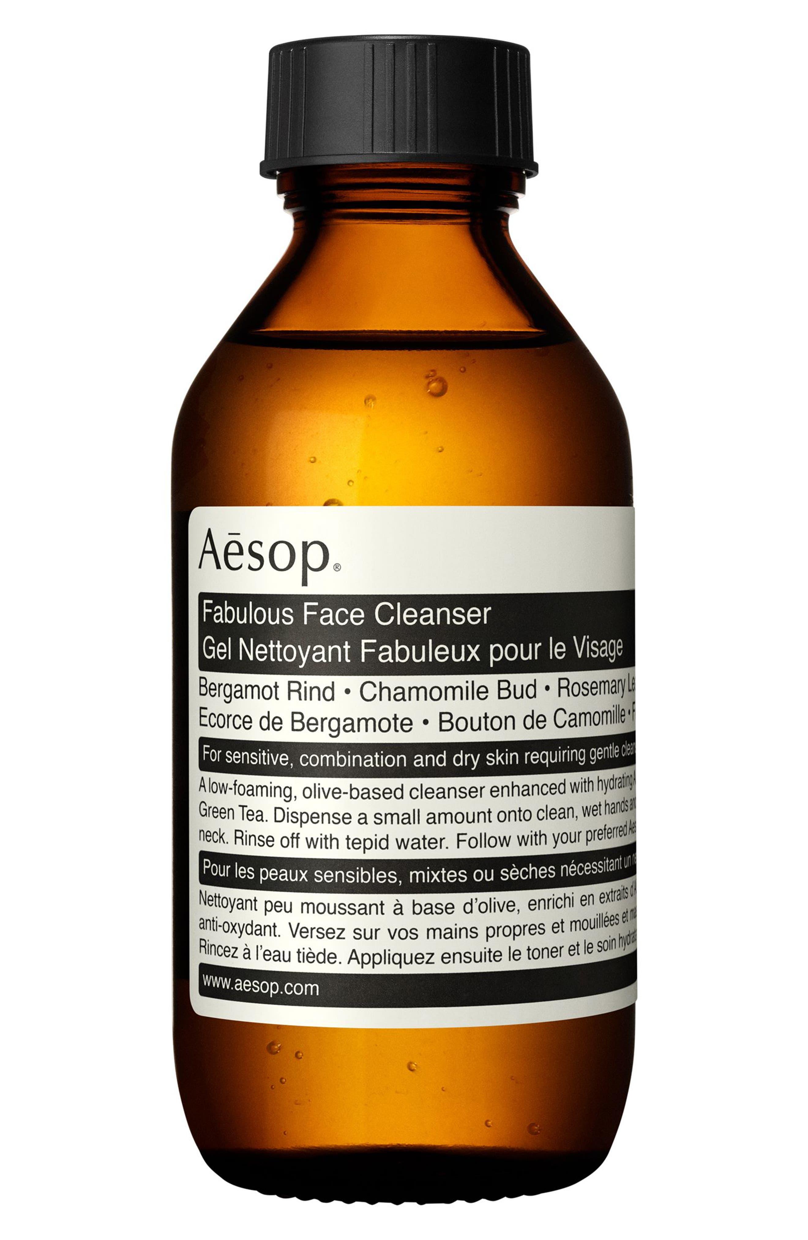 AESOP Fabulous Face Cleanser, Main, color, NONE