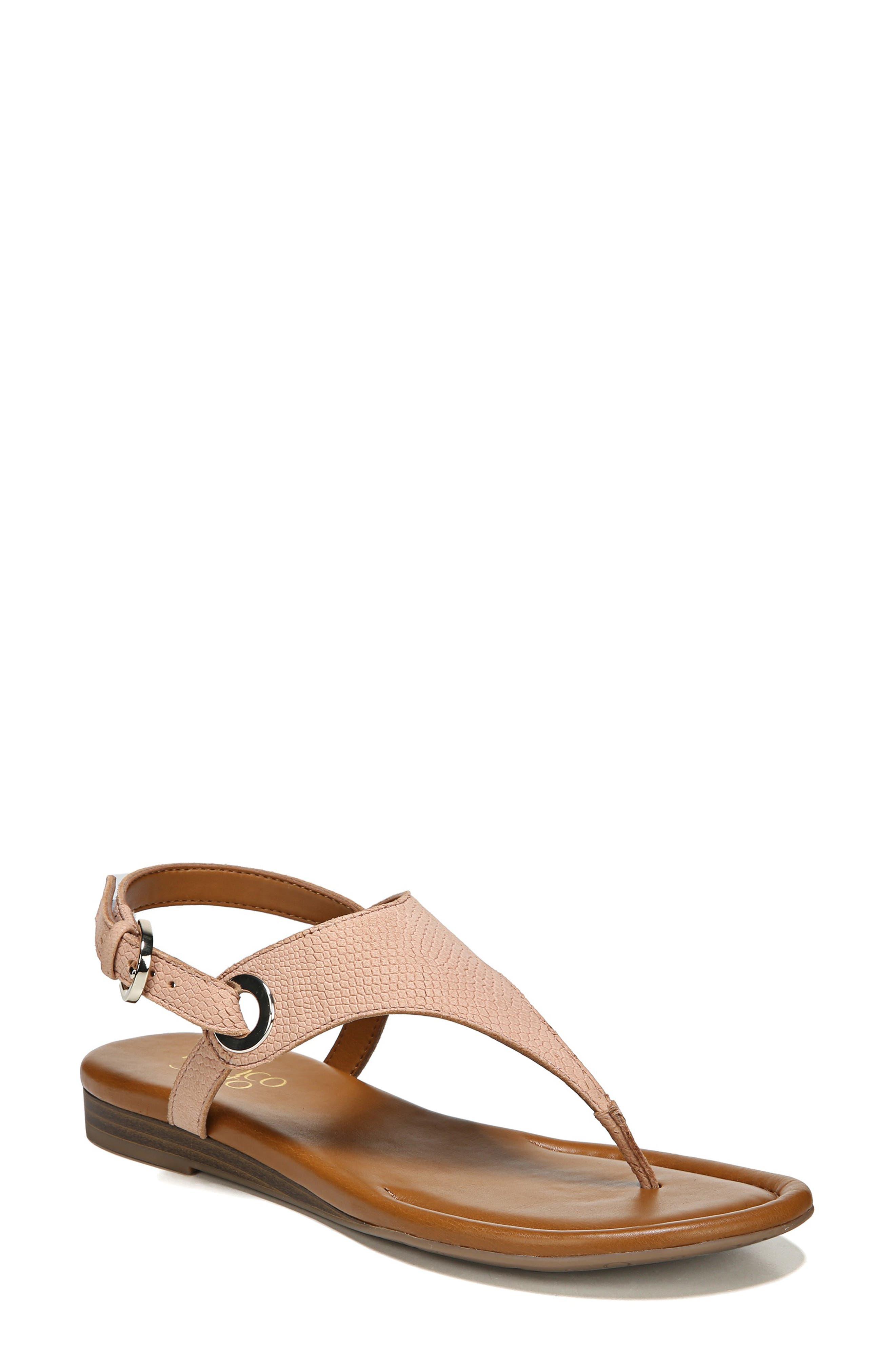 3a0591d5dcc Franco Sarto  Grip  Sandal- Pink