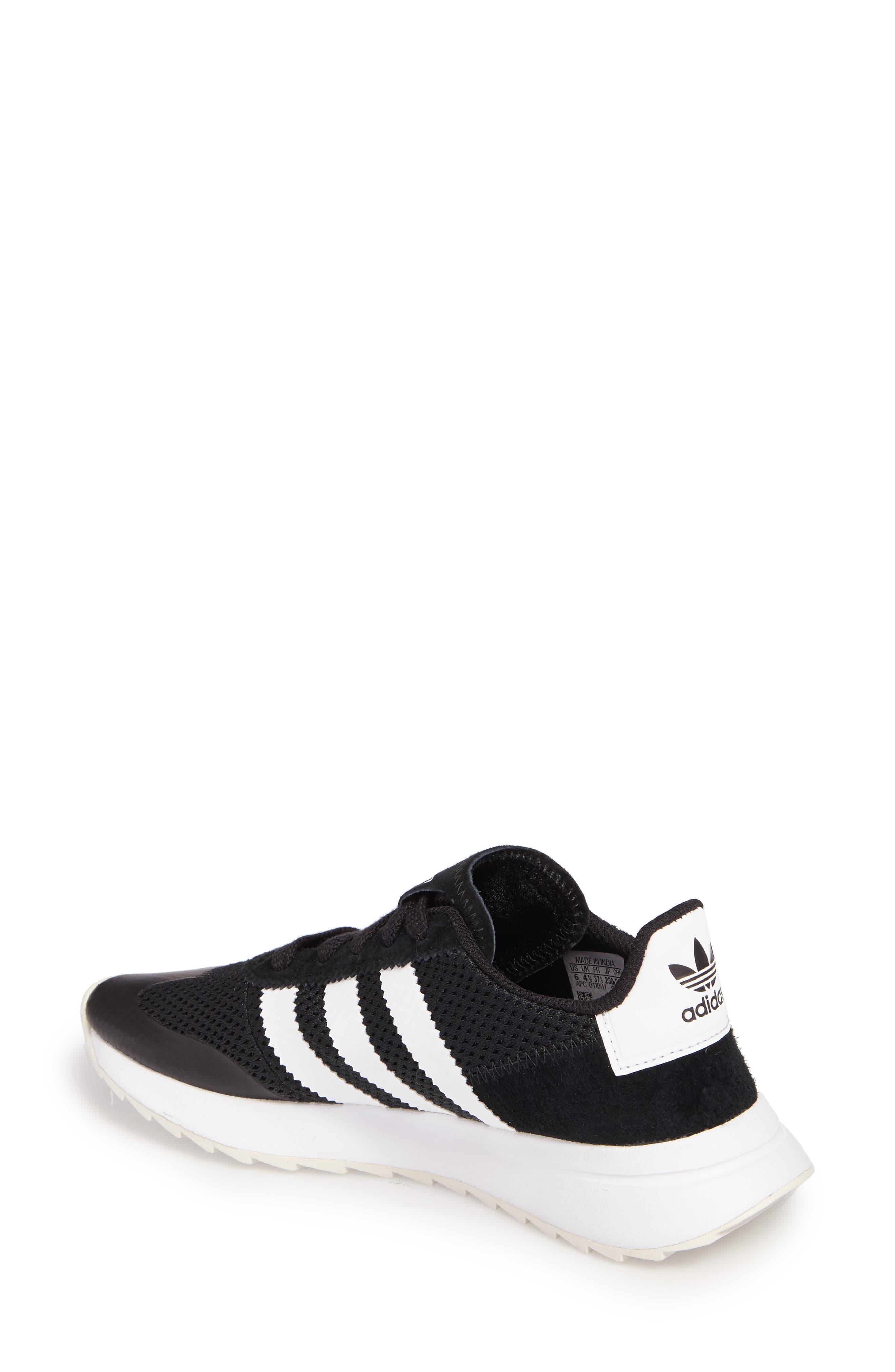 ADIDAS, Flashback Sneaker, Alternate thumbnail 2, color, 001