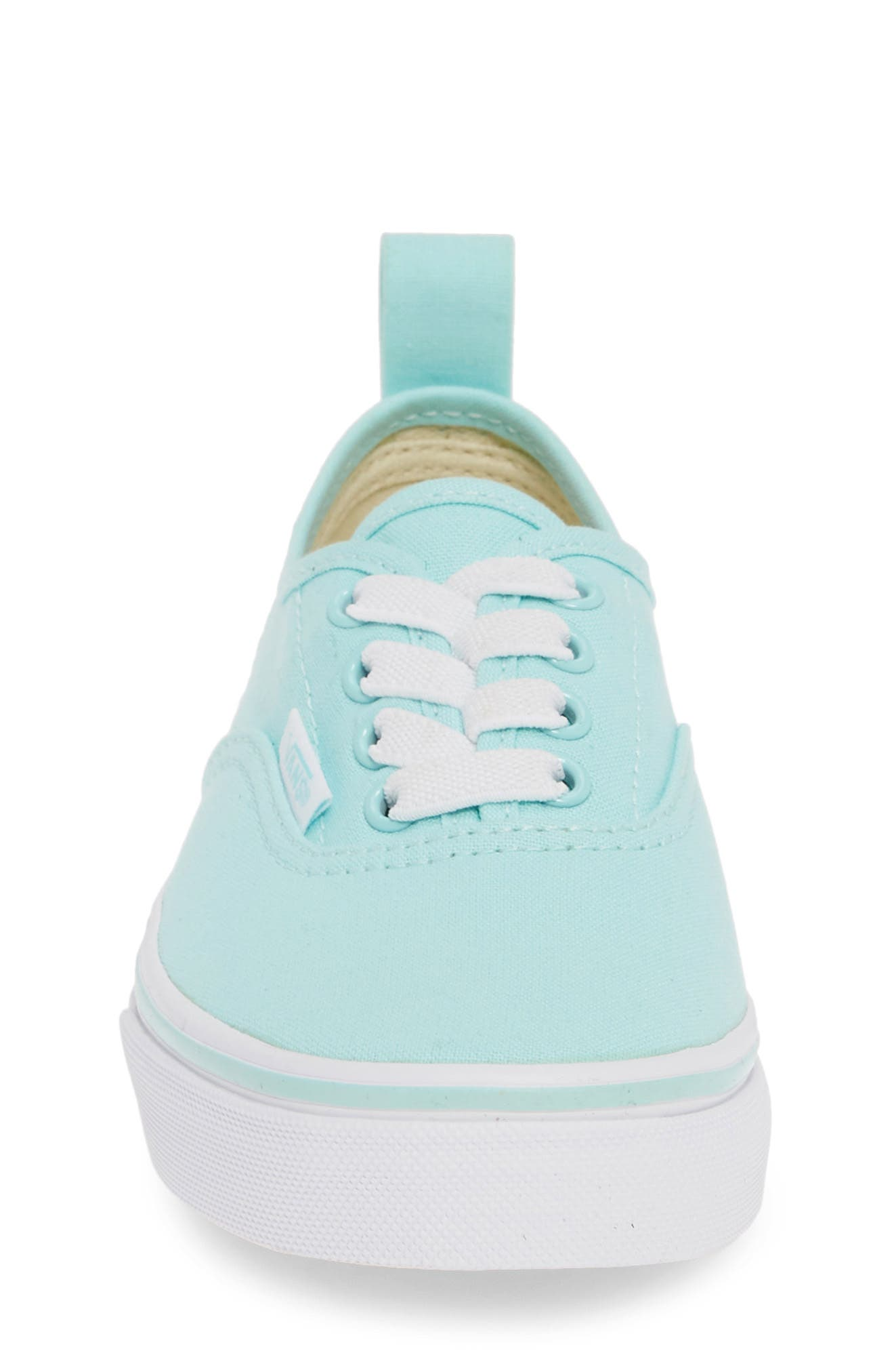 VANS, Authentic Sneaker, Alternate thumbnail 4, color, BLUE TINT/ TRUE WHITE