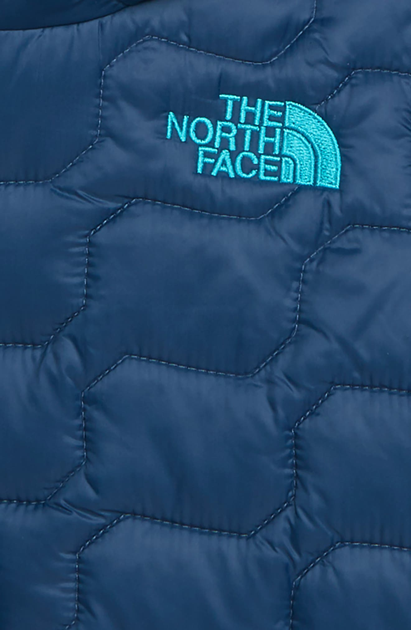 THE NORTH FACE, ThermoBall<sup>™</sup> Hooded Coat, Alternate thumbnail 2, color, SHADY BLUE