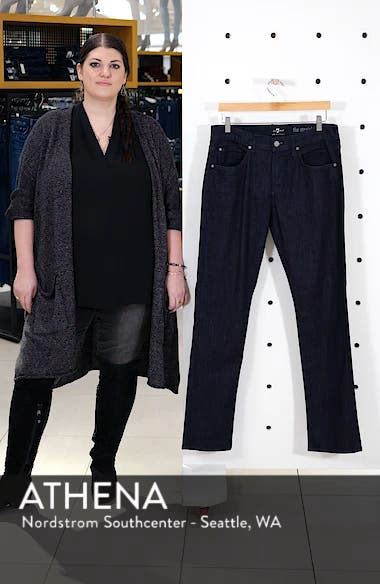 The Straight - Luxe Performance Slim Straight Leg Jeans, sales video thumbnail