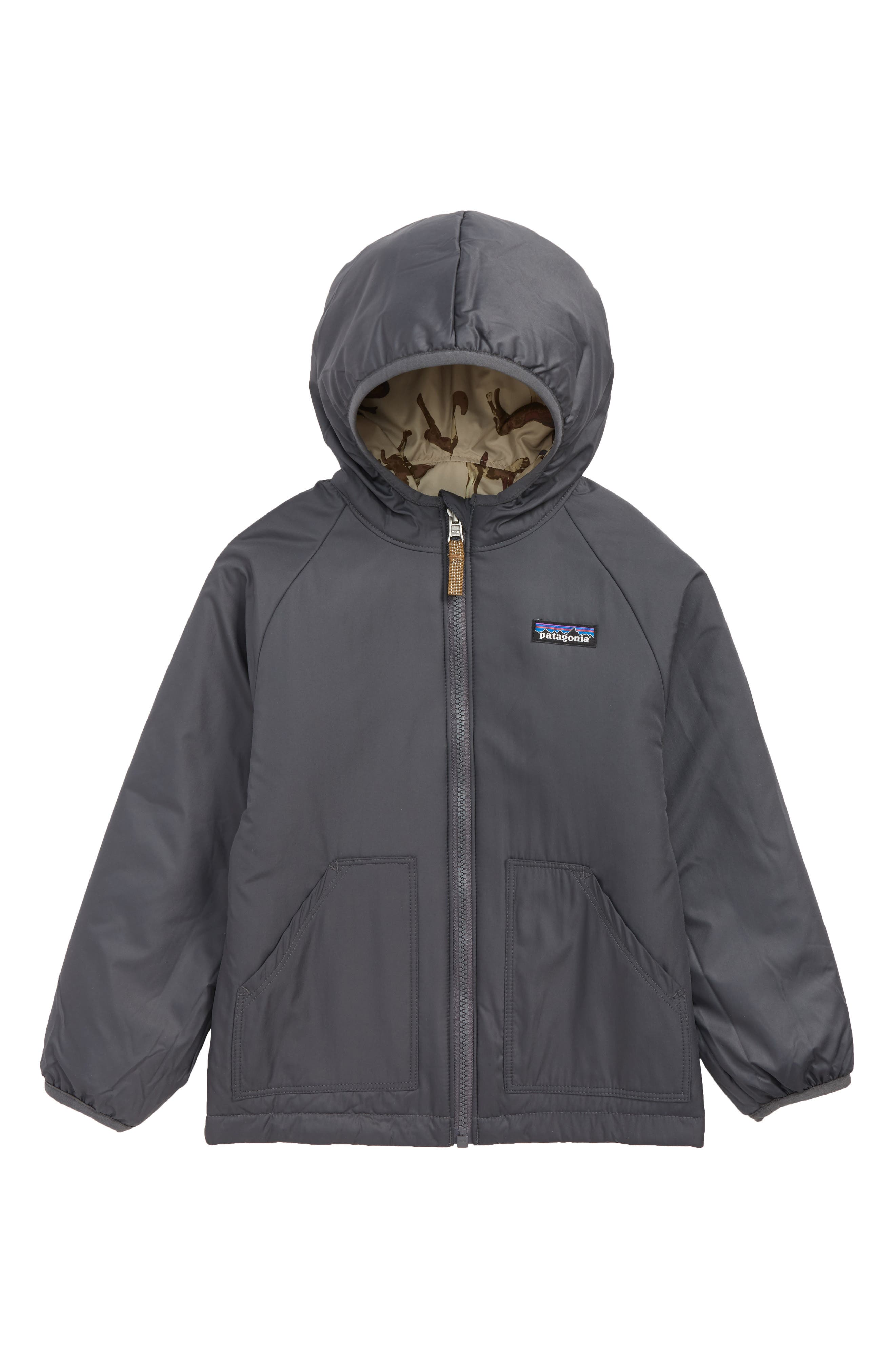 PATAGONIA, Puff Ball Water Resistant Thermolite<sup>®</sup> Insulated Reversible Jacket, Alternate thumbnail 2, color, 200