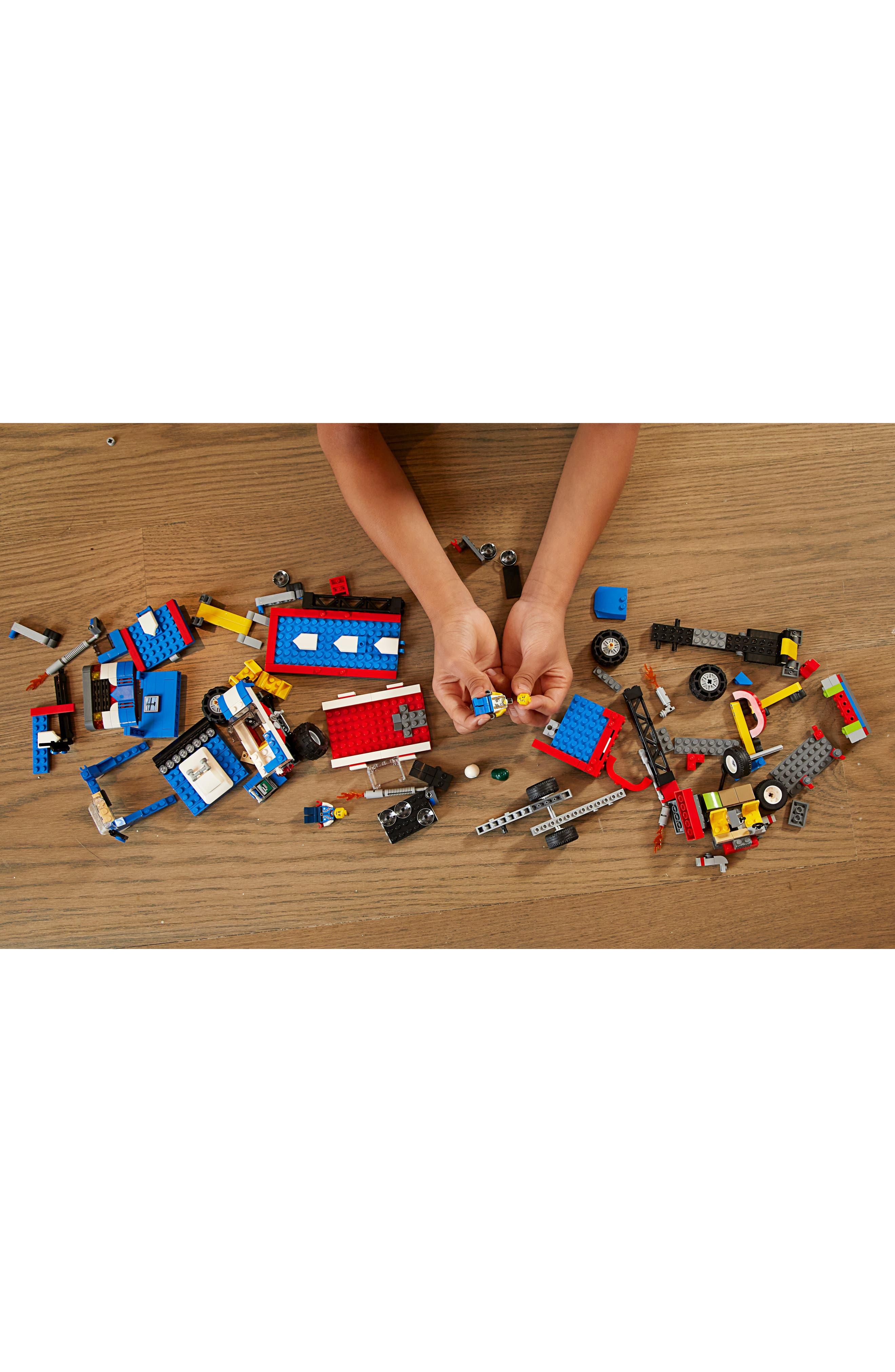 LEGO<SUP>®</SUP>, Creator Mobile Stunt Show - 31085, Alternate thumbnail 6, color, 960