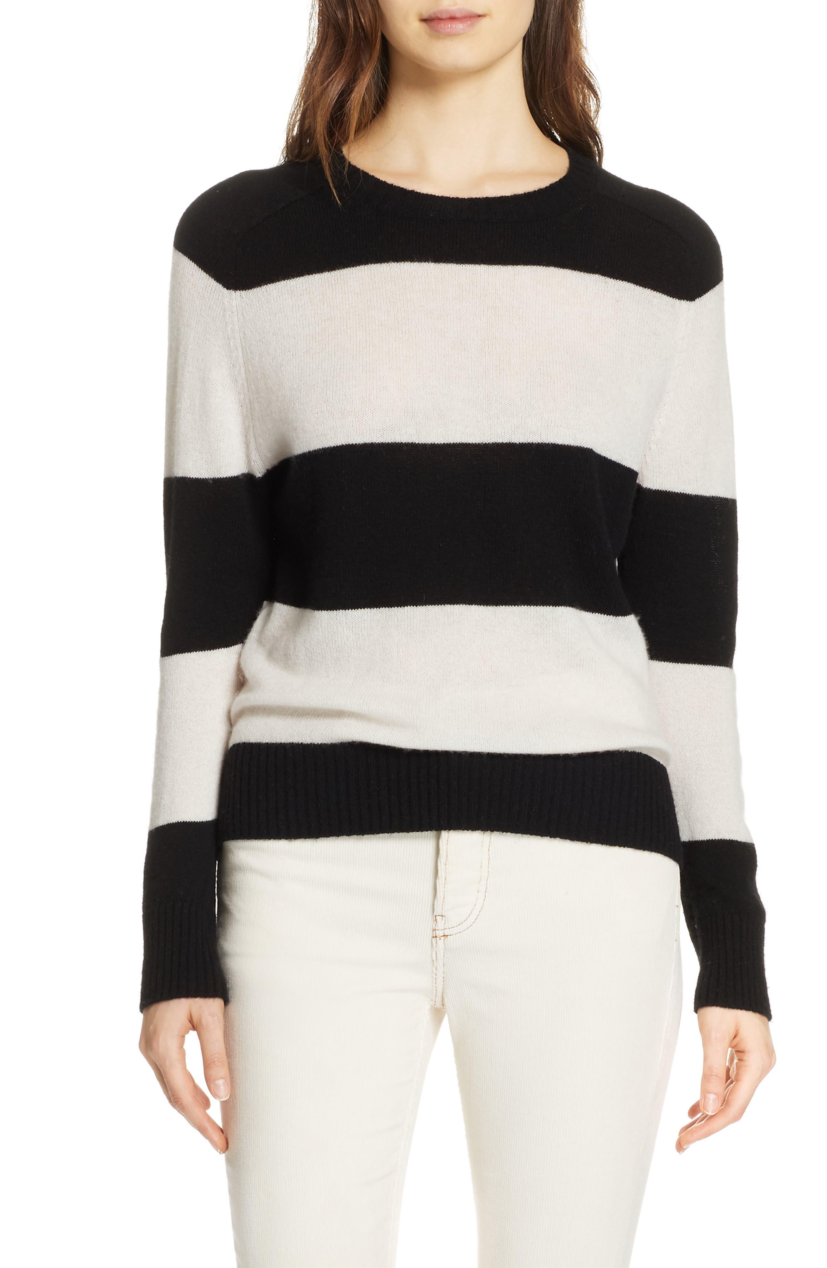 Re/done Stripe Wool & Cashmere Sweater