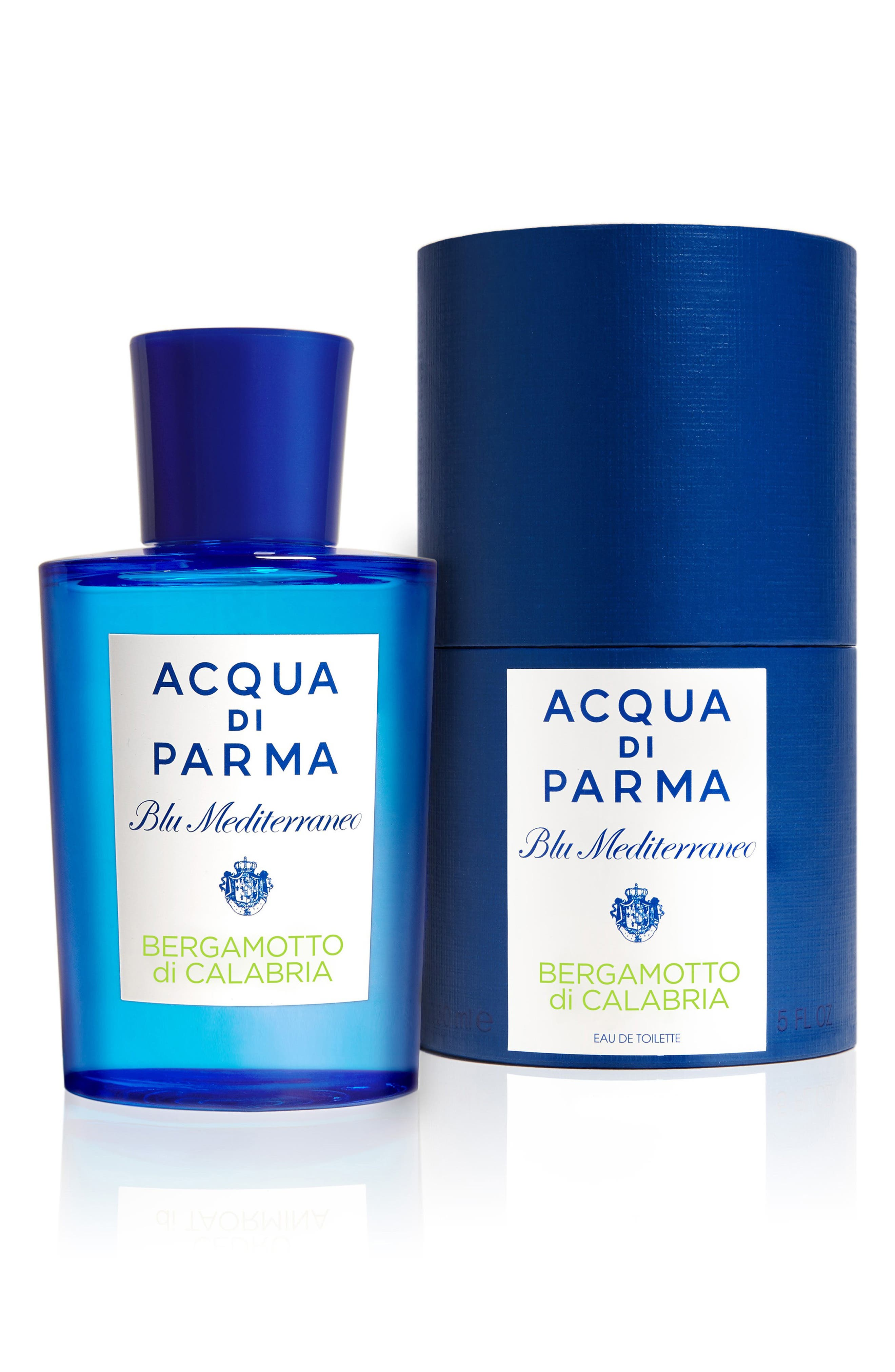 ACQUA DI PARMA, 'Blu Mediterraneo' Bergamotto di Calabria Eau de Toilette Spray, Alternate thumbnail 2, color, NO COLOR