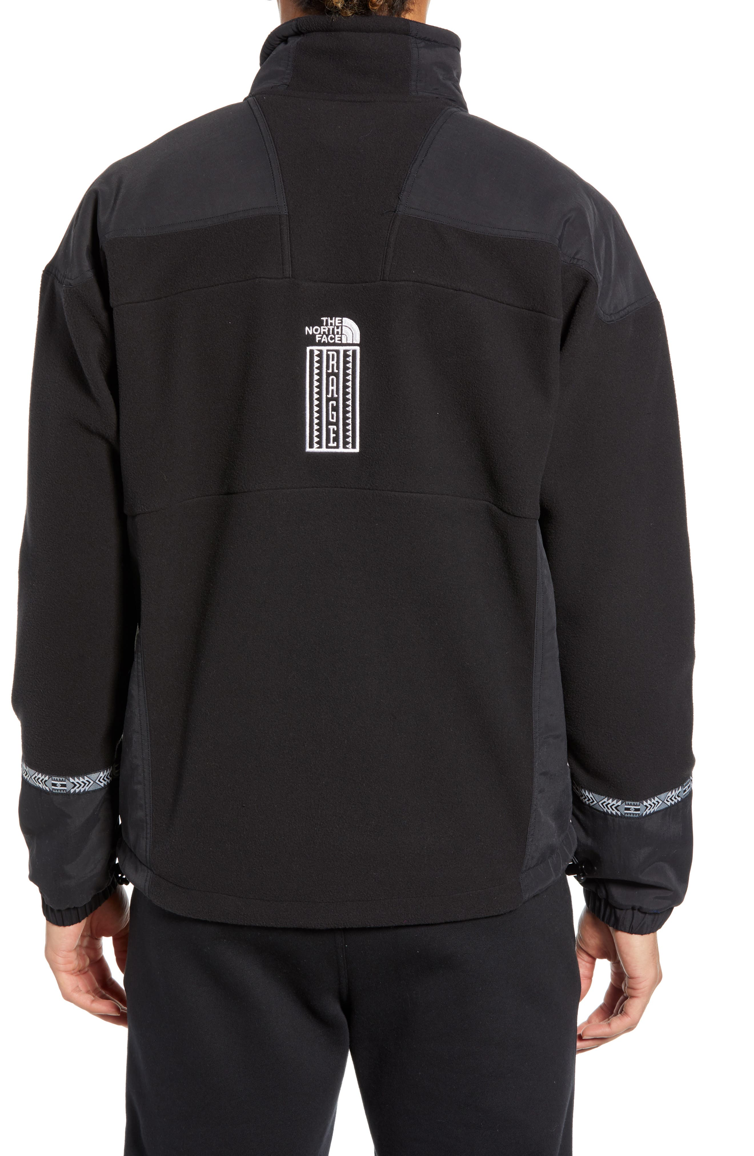 THE NORTH FACE, 1992 Rage Collection Fleece Anorak, Alternate thumbnail 2, color, 001
