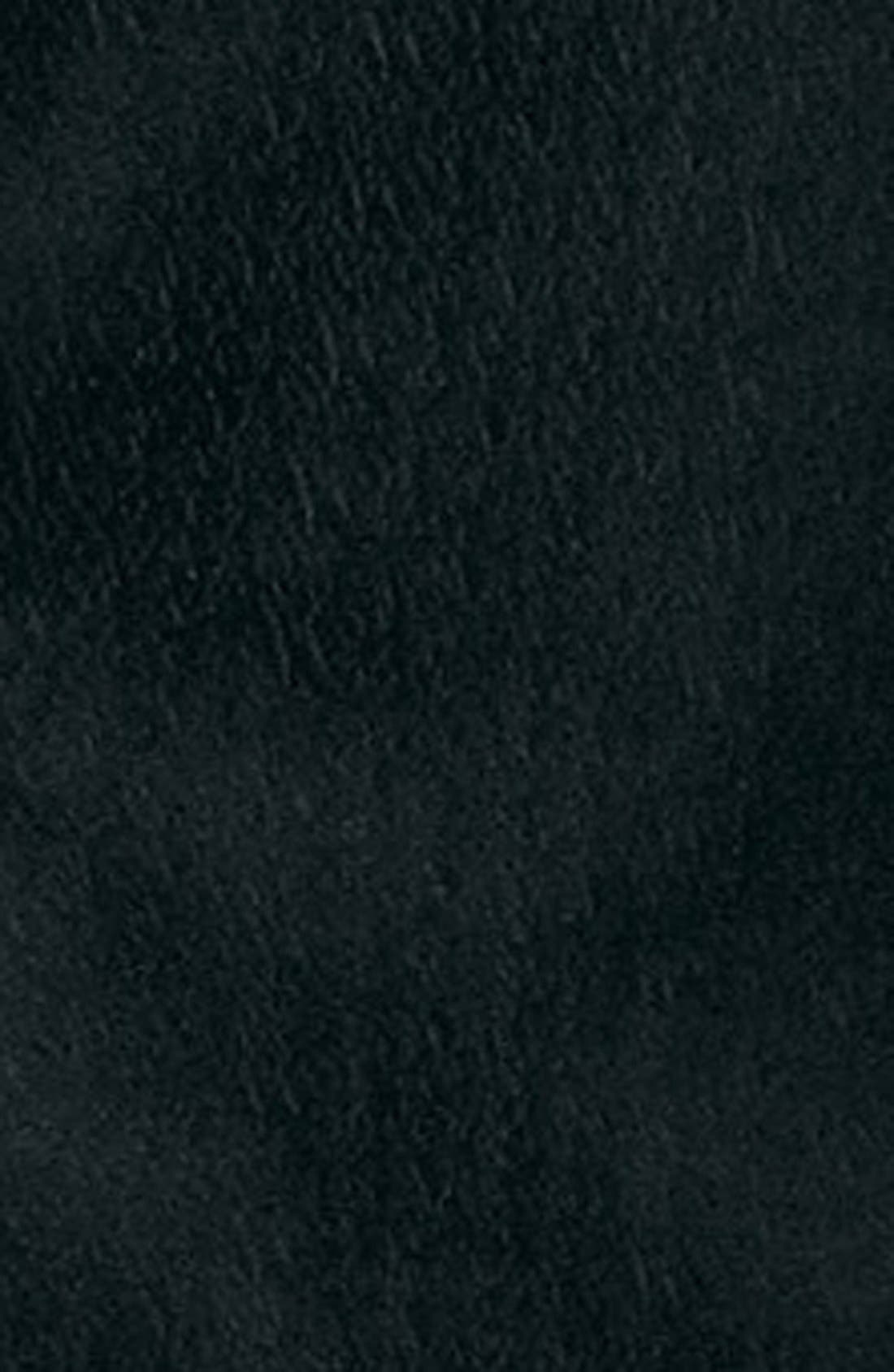 TOPMAN, Black Textured Skinny Fit Tuxedo Jacket, Alternate thumbnail 4, color, 001