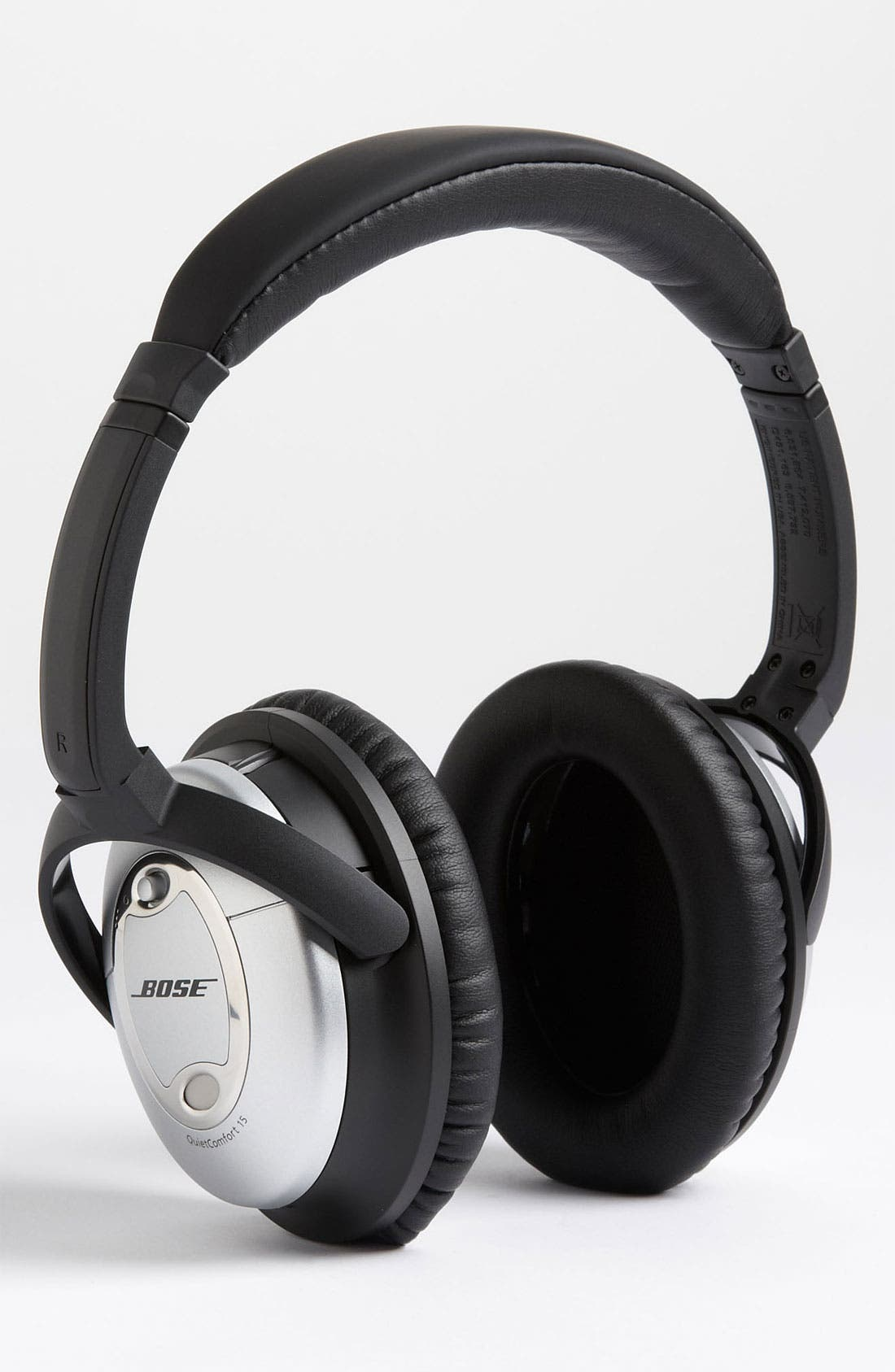 BOSE<SUP>®</SUP>, QuietComfort<sup>®</sup> 15 Acoustic Noise Cancelling<sup>®</sup> Headphones, Main thumbnail 1, color, 040