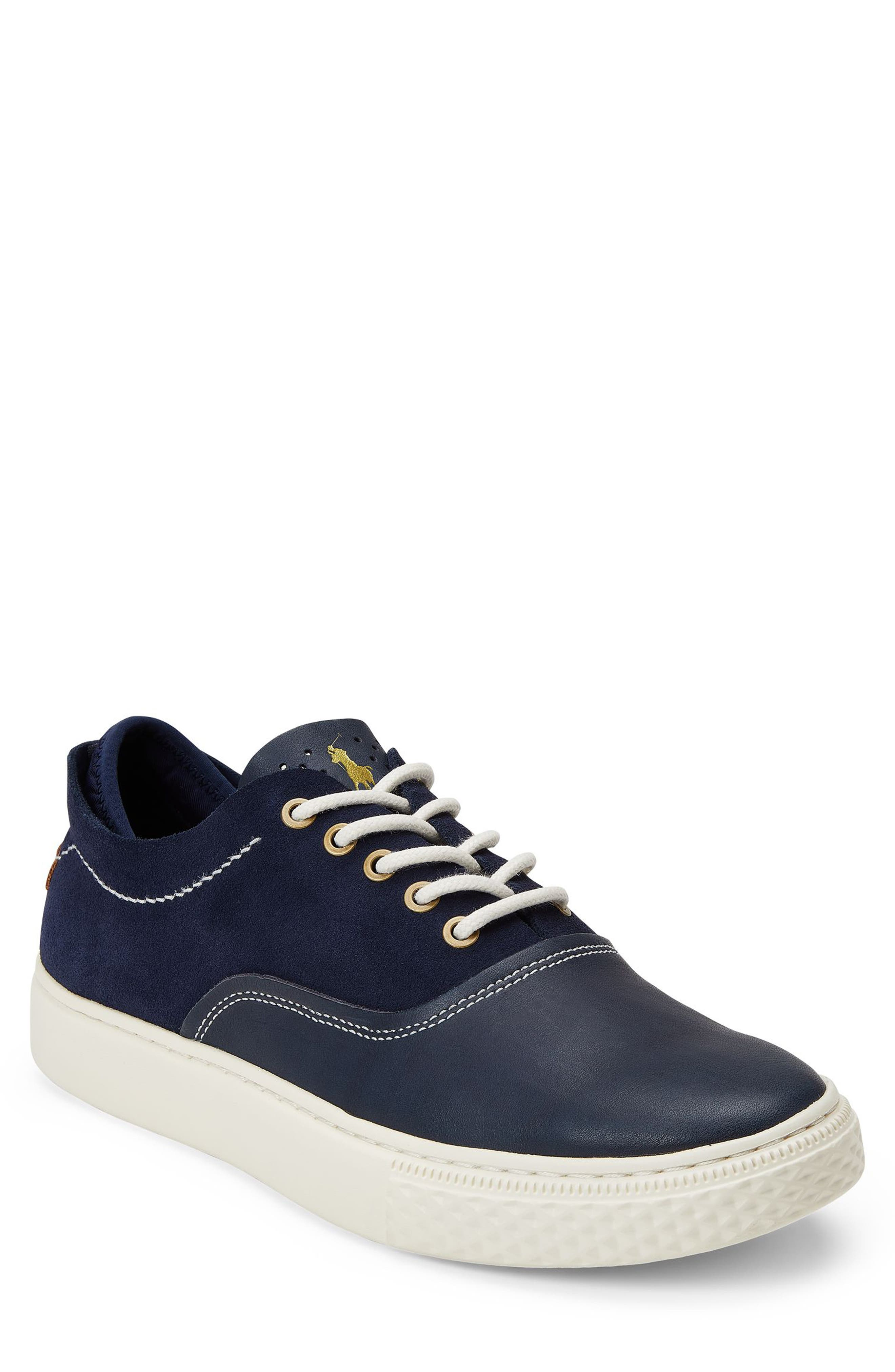 POLO RALPH LAUREN, Thorton 100 Sneaker, Alternate thumbnail 6, color, 410