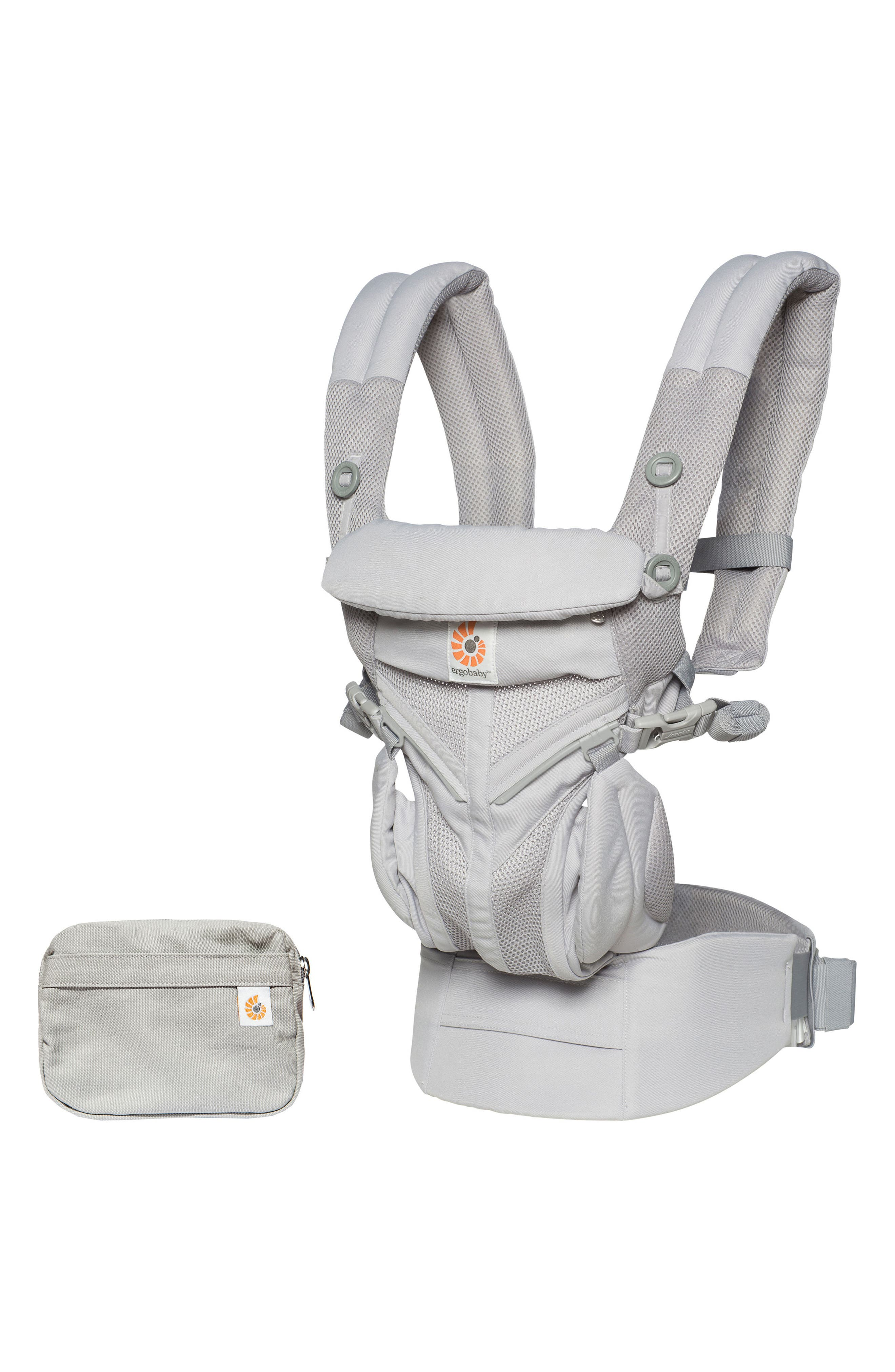 ERGOBABY, Omni 360 - Cool Air Baby Carrier, Main thumbnail 1, color, PEARL GREY
