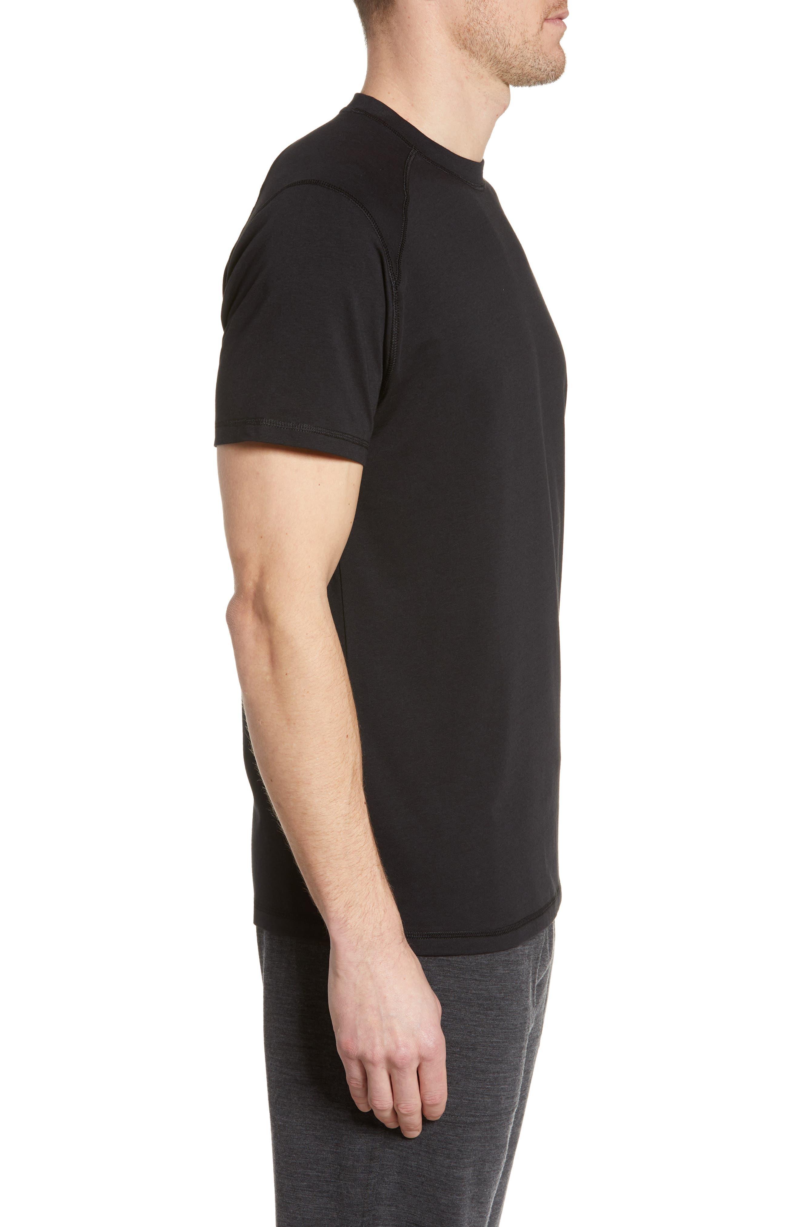 TASC PERFORMANCE, Carrollton T-Shirt, Alternate thumbnail 3, color, BLACK
