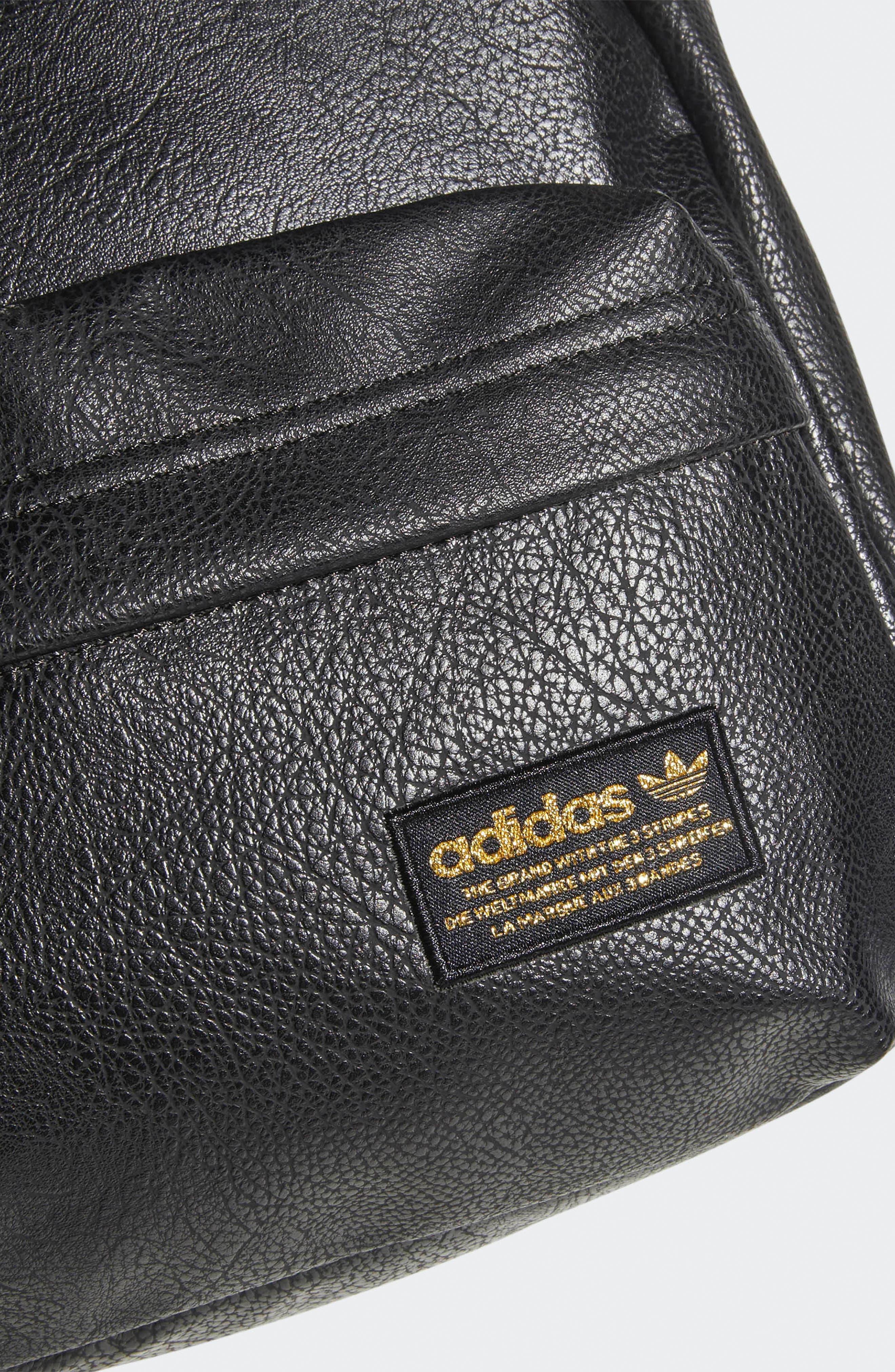 ADIDAS ORIGINALS, National Compact Backpack, Alternate thumbnail 5, color, 001