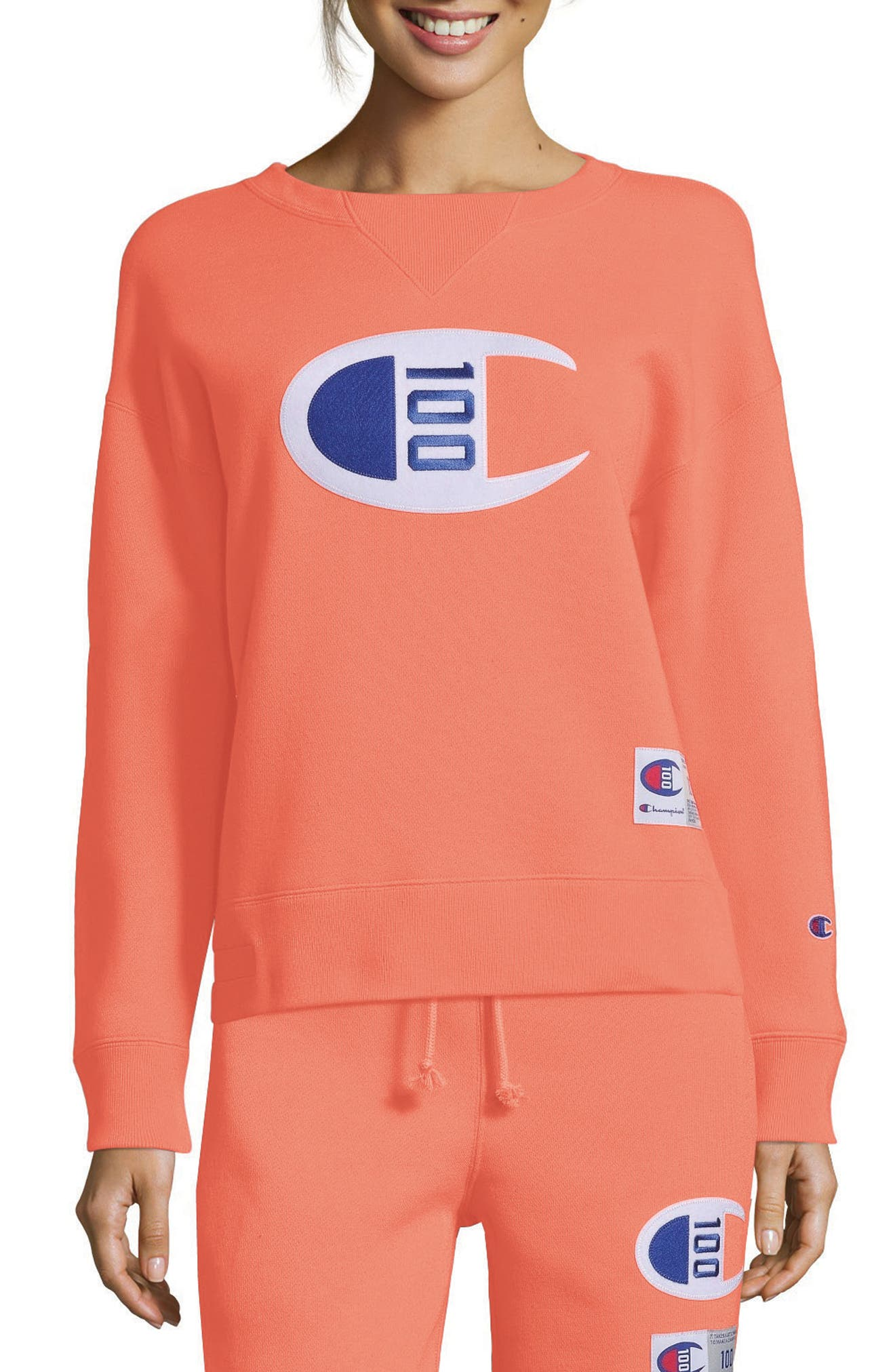 Champion Century Collection Logo Sweatshirt