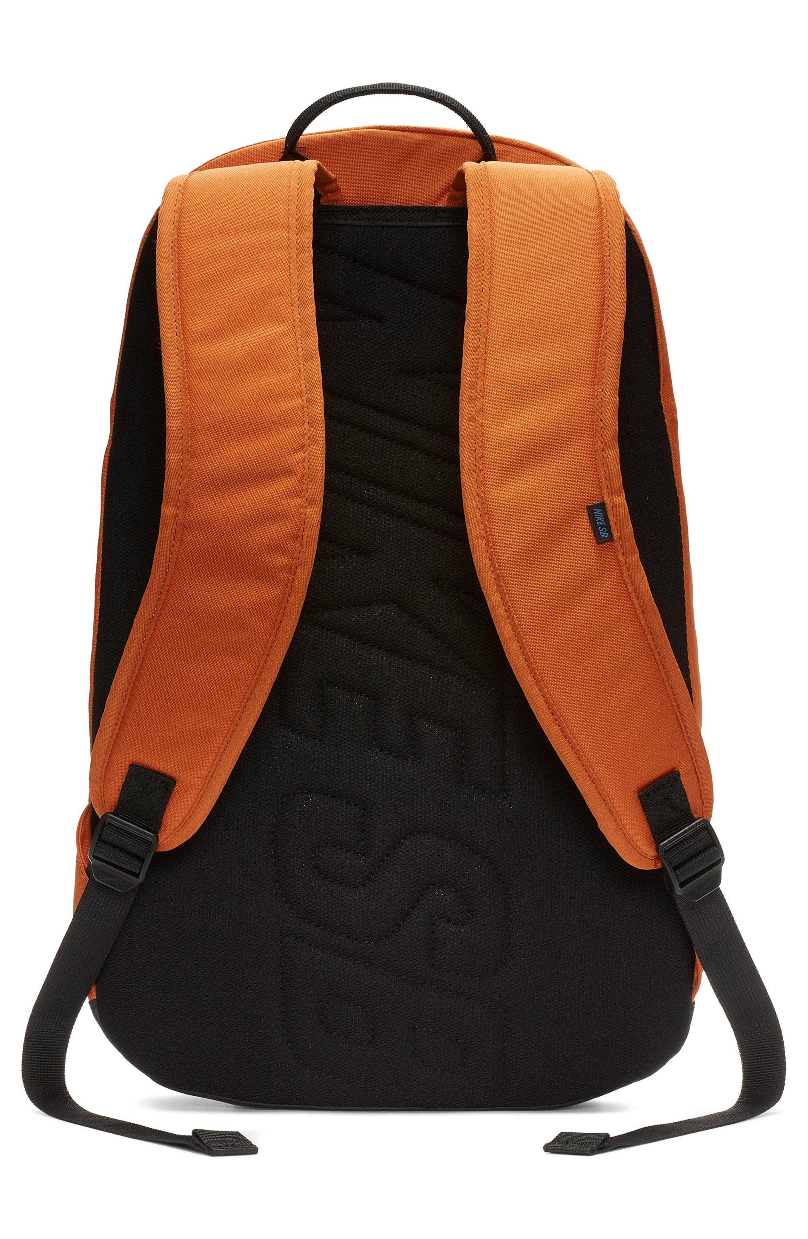 NIKE SB, Courthouse Backpack, Alternate thumbnail 2, color, CINDER ORANGE