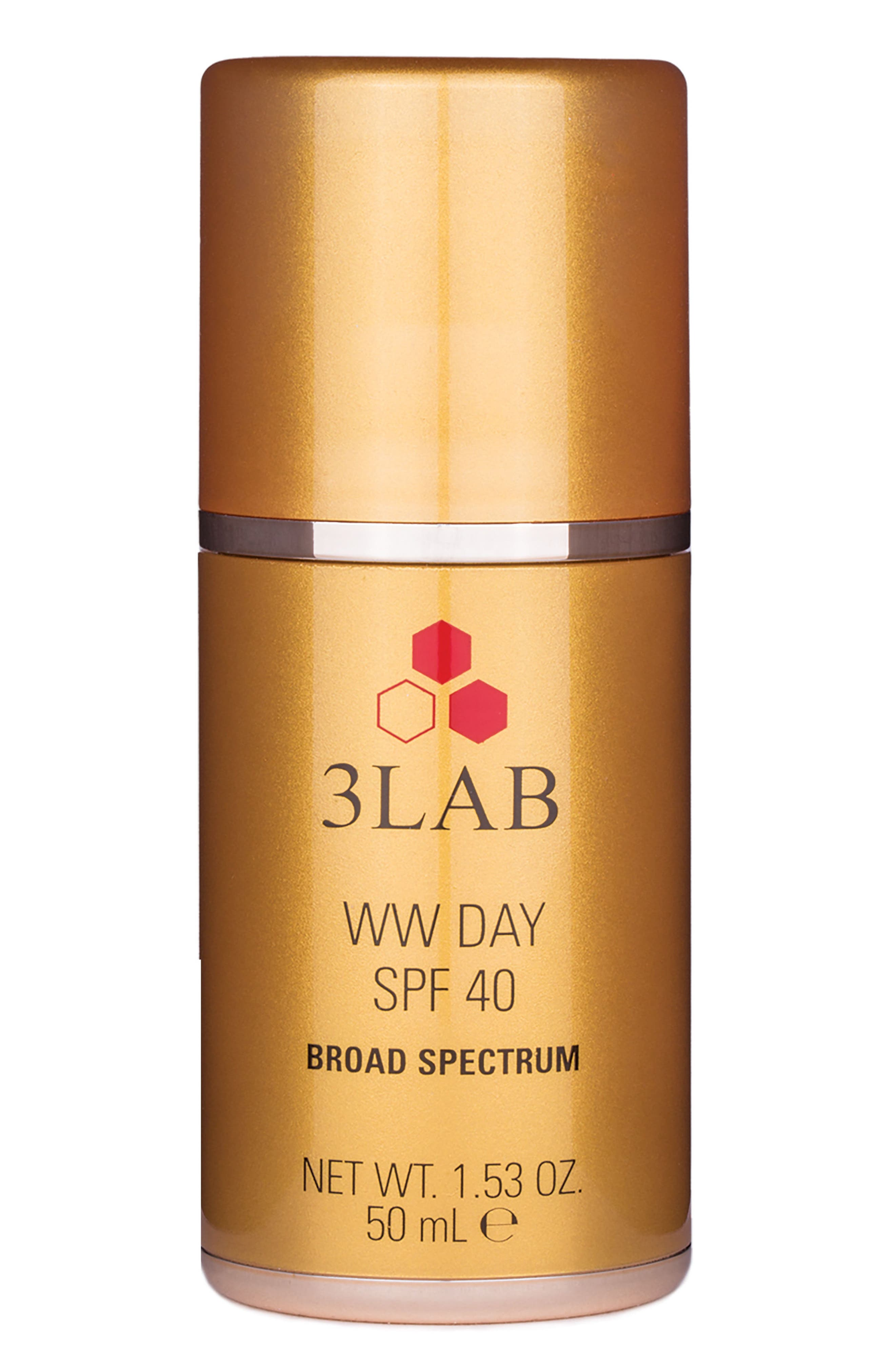 3LAB, WW Day SPF 40, Main thumbnail 1, color, NO COLOR