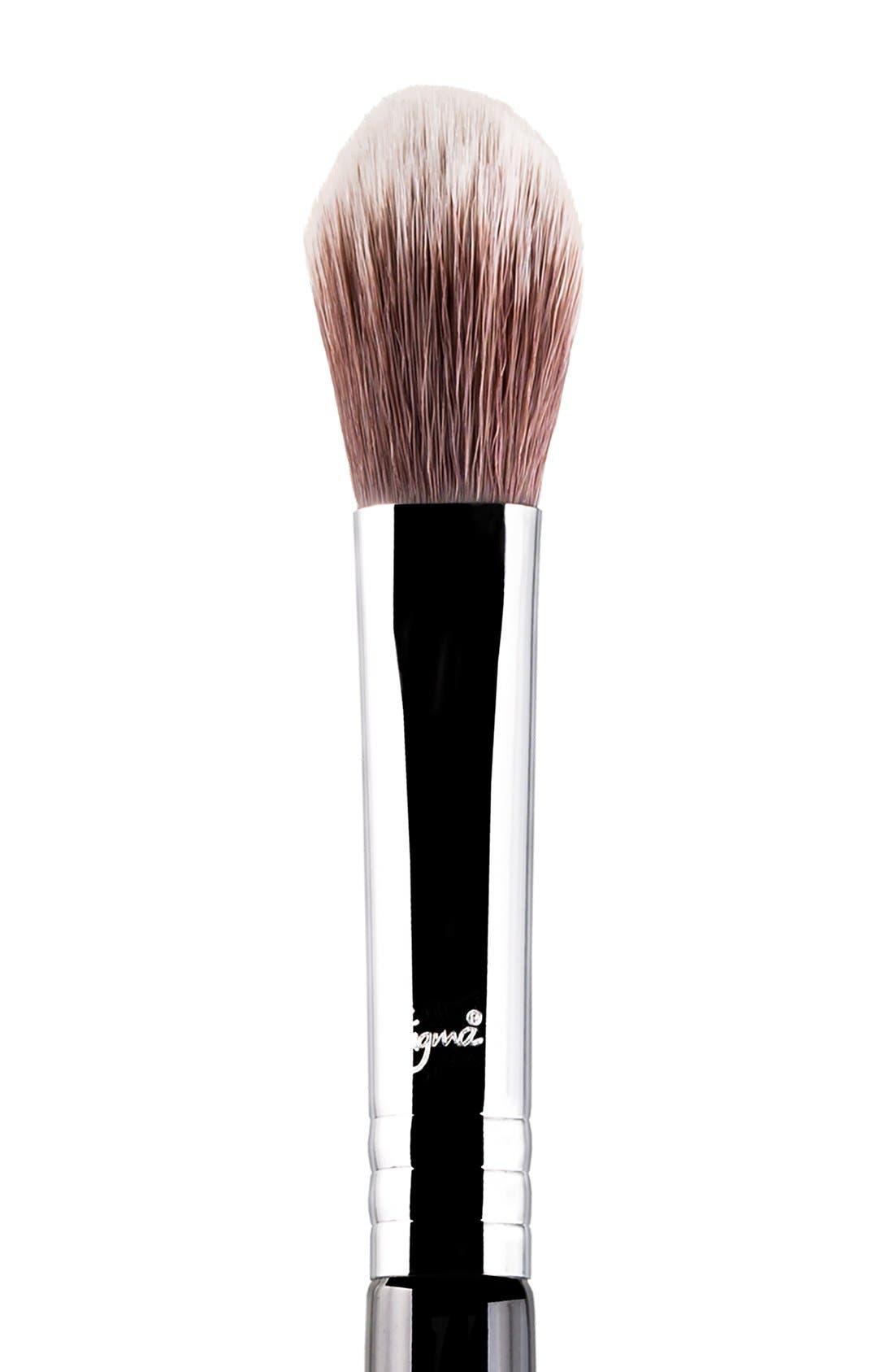 SIGMA BEAUTY, F03 High Cheekbone Highlighter<sup>™</sup> Brush, Alternate thumbnail 2, color, NO COLOR