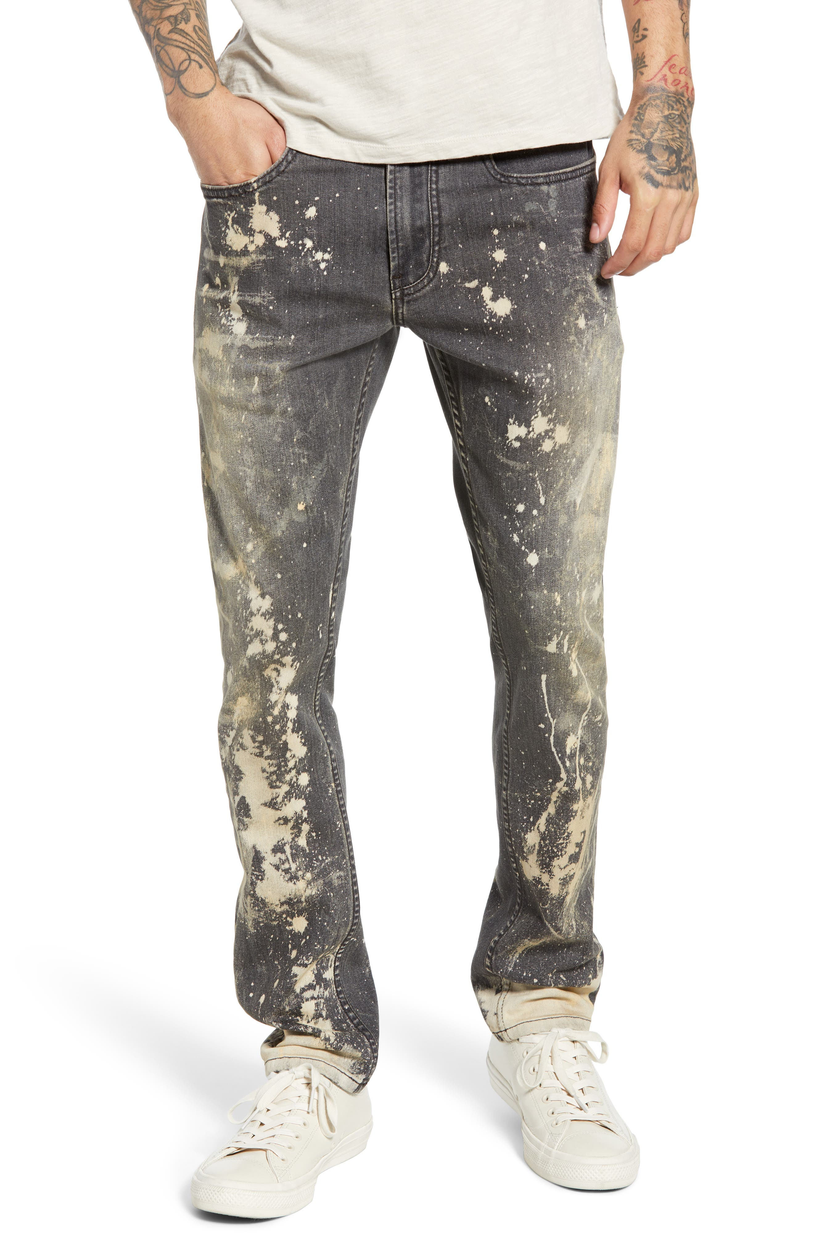 BLANKNYC Horatio Skinny Fit Jeans, Main, color, GOOD TIMES BAD TIMES