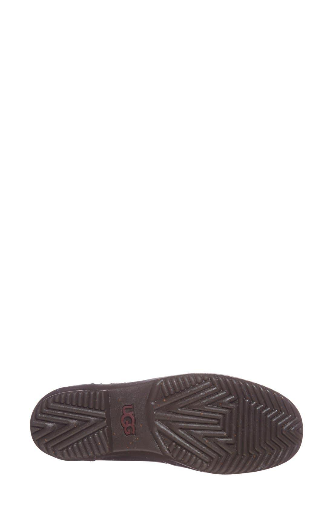 UGG<SUP>®</SUP>, Kesey Waterproof Boot, Alternate thumbnail 2, color, BLACK