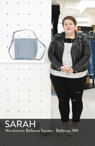 'Kita' Leather Shoulder/Crossbody Bag, sales video thumbnail