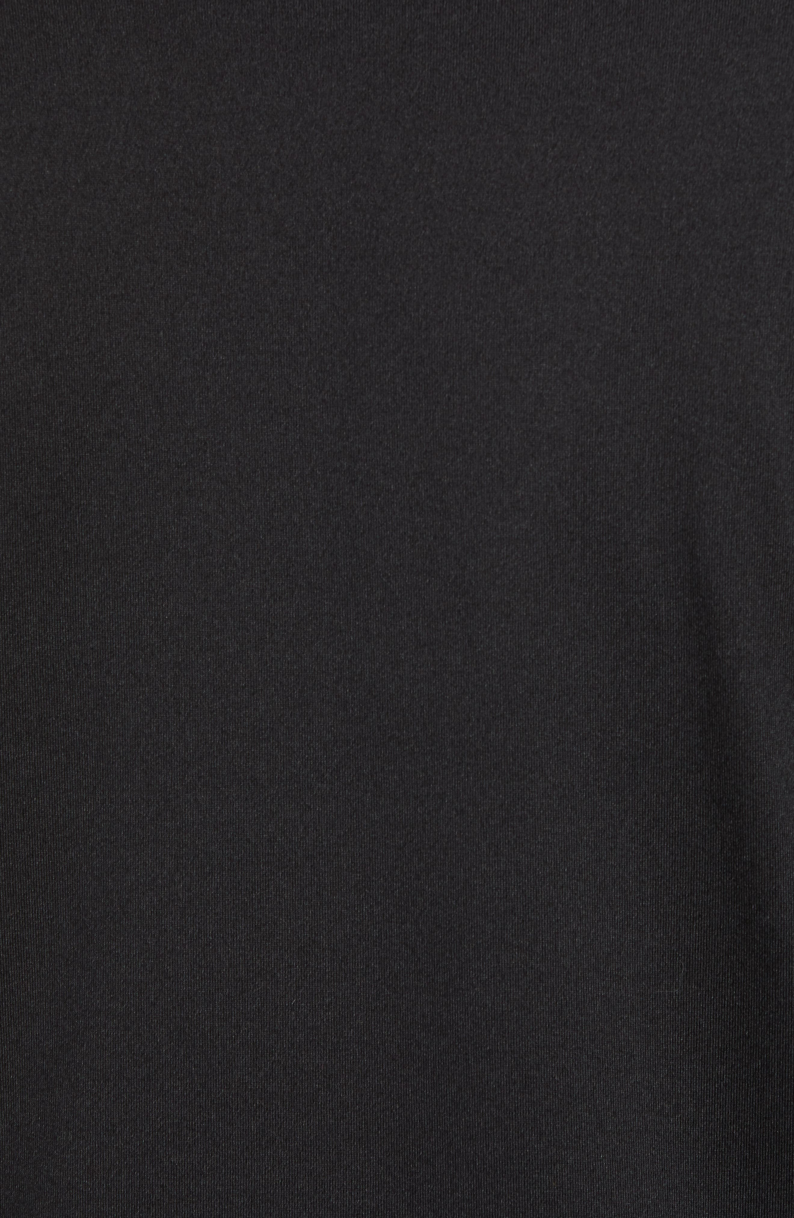 PETER MILLAR, Sydney Quarter Zip Tech Pullover, Alternate thumbnail 5, color, BLACK
