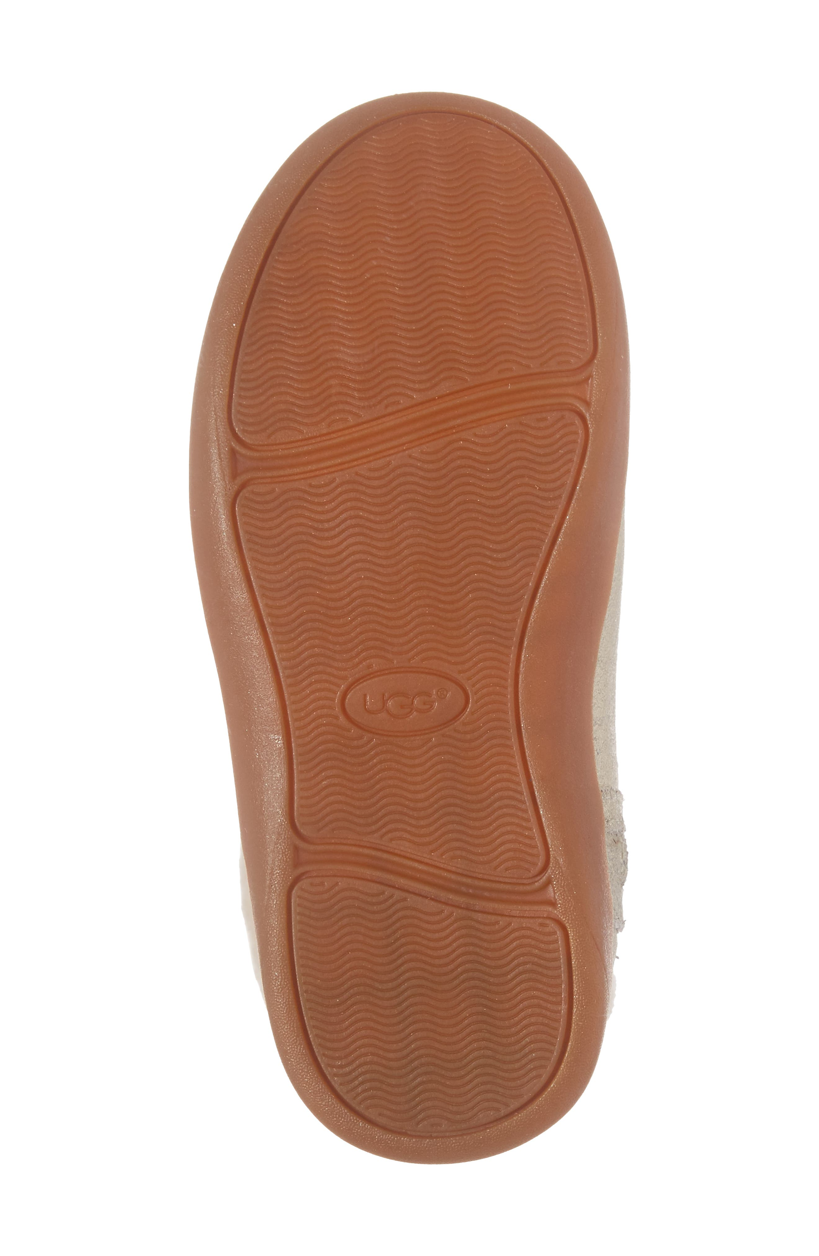 UGG<SUP>®</SUP>, Jorie II Genuine Shearling Metallic Boot, Alternate thumbnail 6, color, METALLIC GOLD