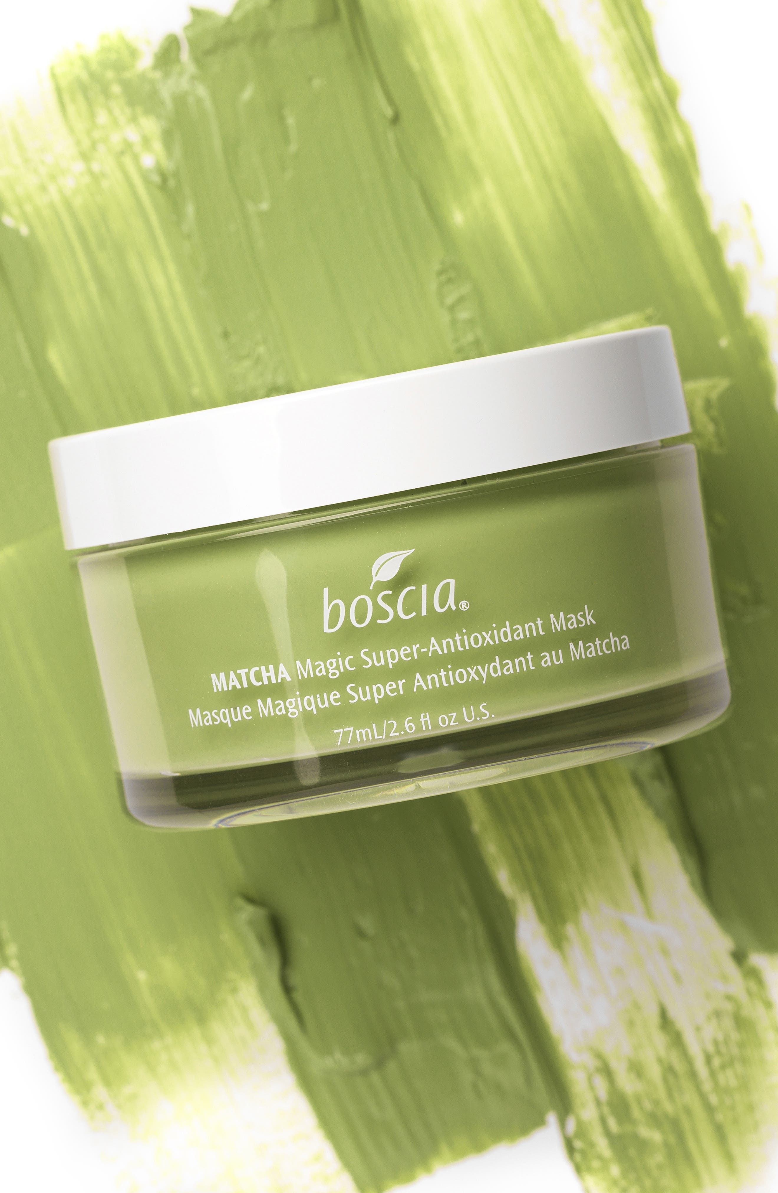 BOSCIA, Matcha Magic Super-Antioxidant Mask, Alternate thumbnail 4, color, NO COLOR