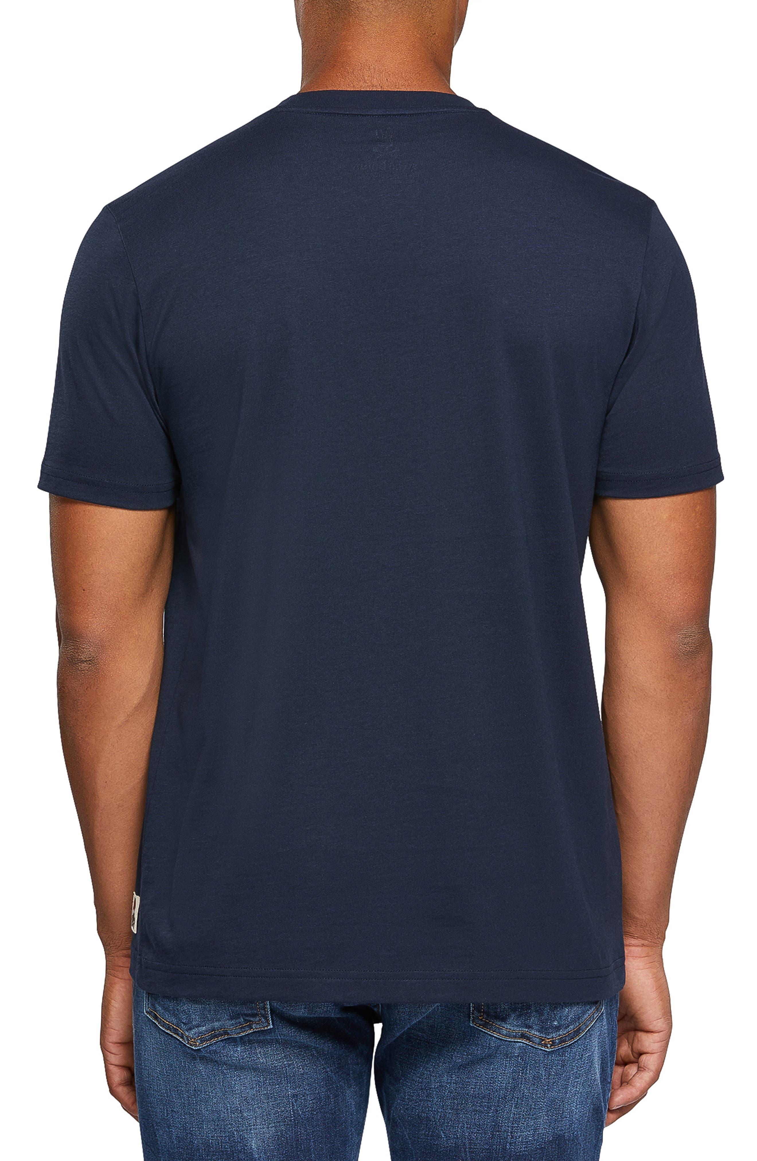 PSYCHO BUNNY, Logo Graphic T-Shirt, Alternate thumbnail 2, color, 400