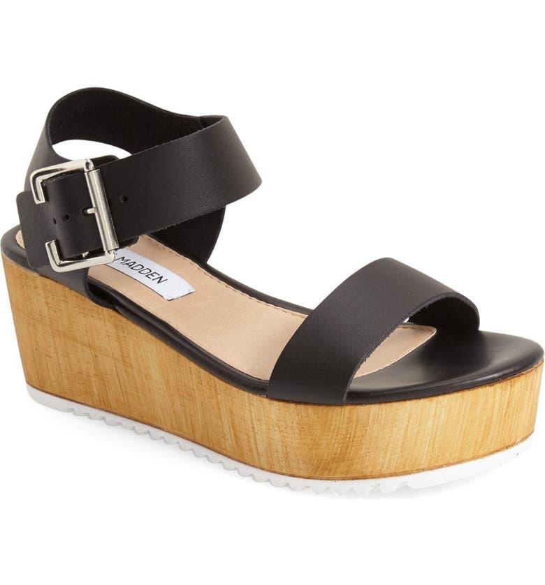 86f0cc3e50e0 Steve Madden  Nylee  Platform Sandal (Women)