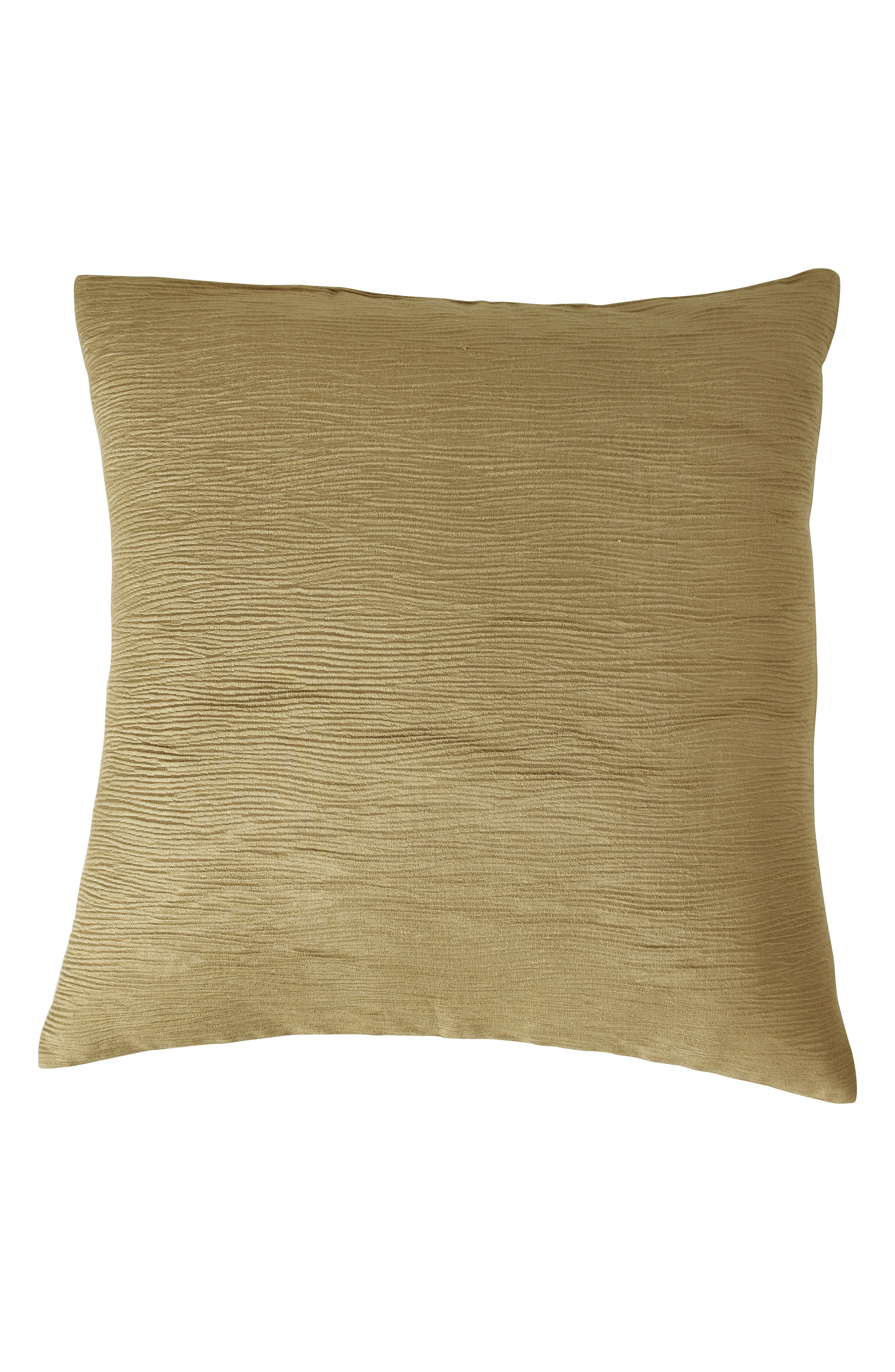 DONNA KARAN NEW YORK Gilded Euro Sham, Main, color, GOLD