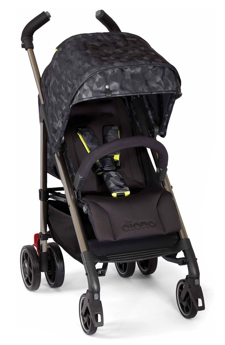 DIONO Flexa Luxe Stroller, Main, color, BLACK CAMO