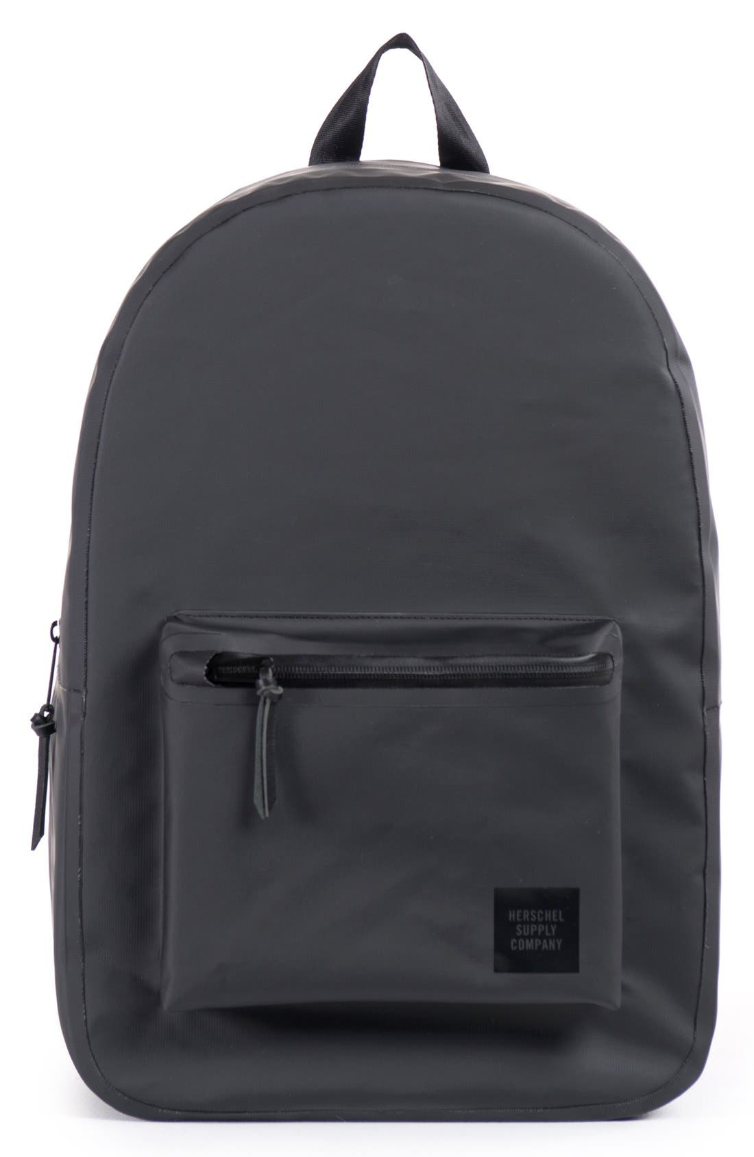 'Settlement - Studio Collection' Water Resistant Tarpaulin Backpack, Main, color, 001
