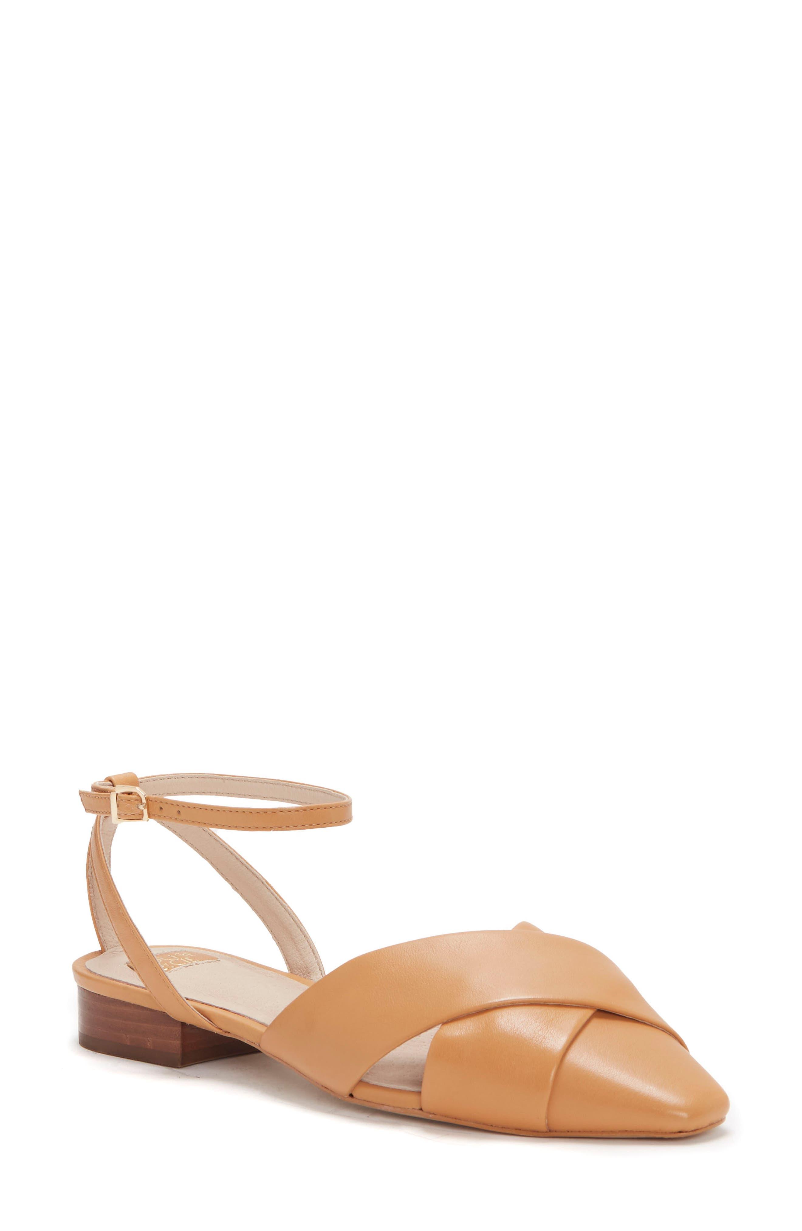 Aldona Ankle Strap Flat