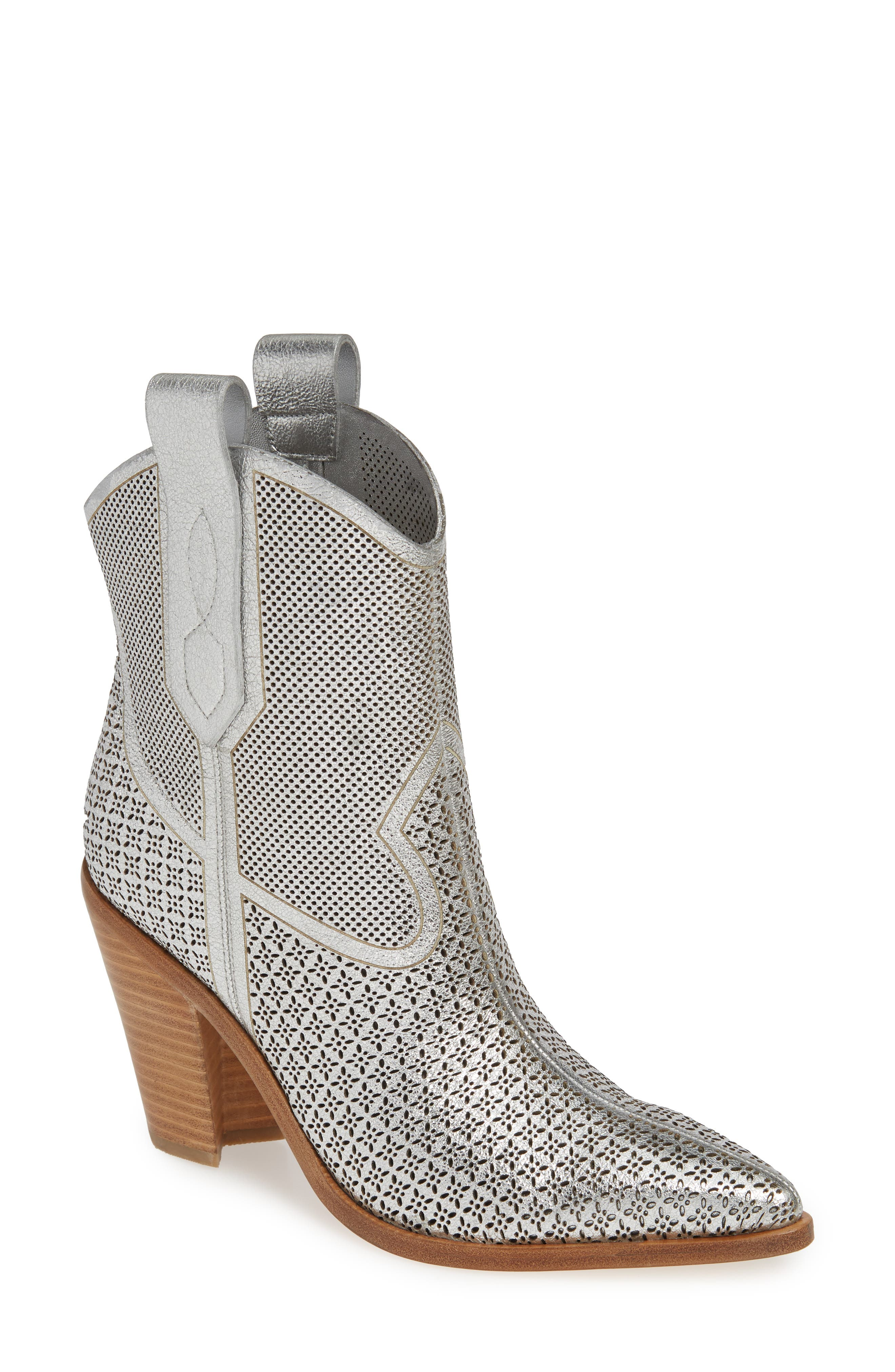 Sigerson Morrison Western Boot Metallic