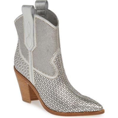 Sigerson Morrison Western Boot, Metallic
