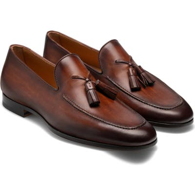 Magnanni Richards Tassel Loafer, Brown