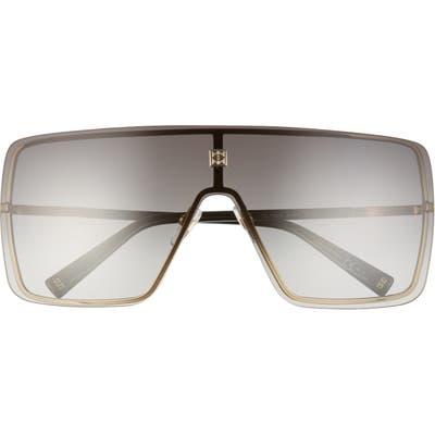 Givenchy Shield Sunglasses - Gold/ Dark Grey