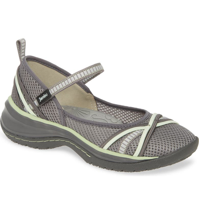 JAMBU Mystic Water Friendly Mary Jane, Main, color, GREY/ PISTACHIO
