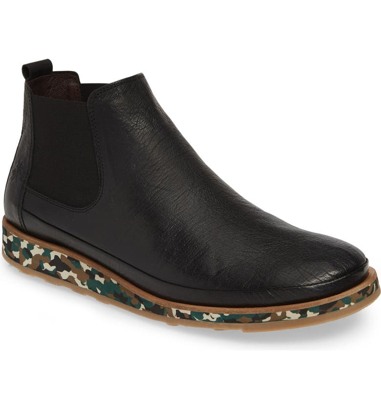 FLY LONDON Japa Chelsea Boot, Main, color, BLACK