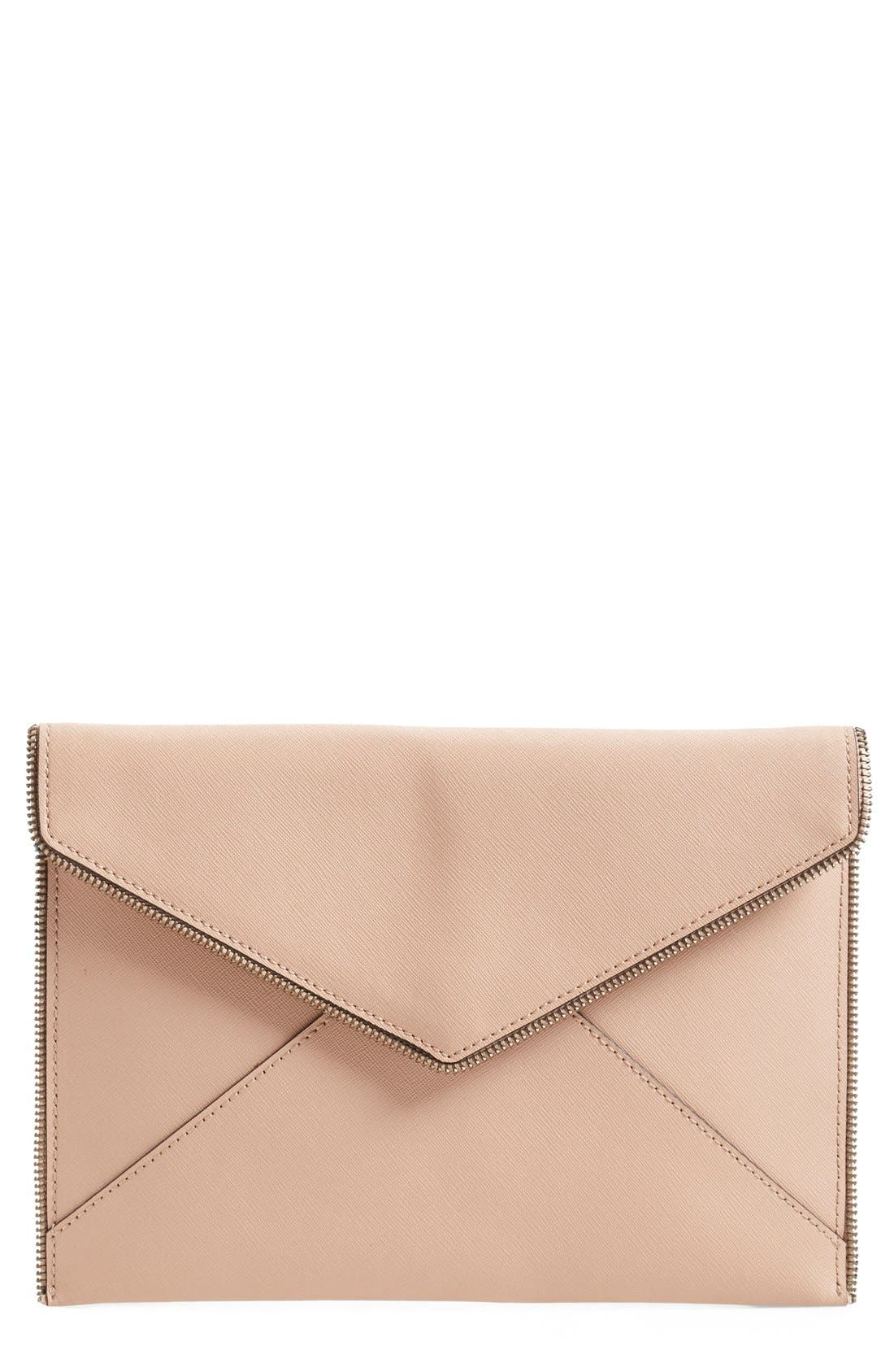 ,                             Leo Envelope Clutch,                             Main thumbnail 131, color,                             251