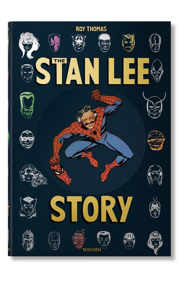 TASCHEN BOOKS 'The Stan Lee Story' Book, Main, color, BLUE