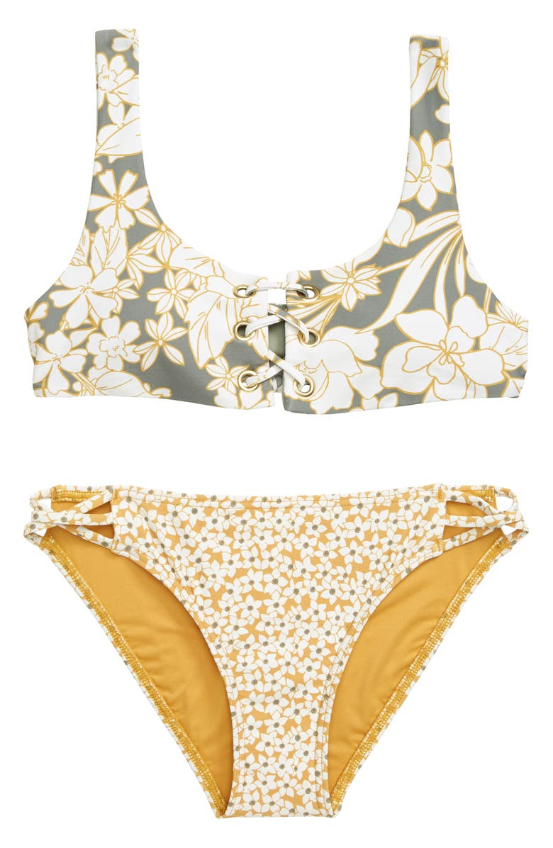 O'NEILL Embry Two-Piece Swimsuit, Main, color, FOG
