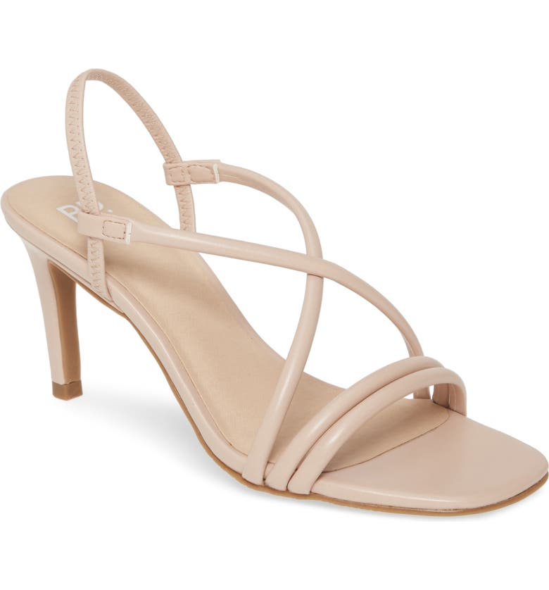 BP. Billy Strappy Sandal, Main, color, BLUSH FAUX LEATHER