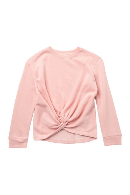 Image of Z by Zella Girl Farrah Twist Front Pullover Top