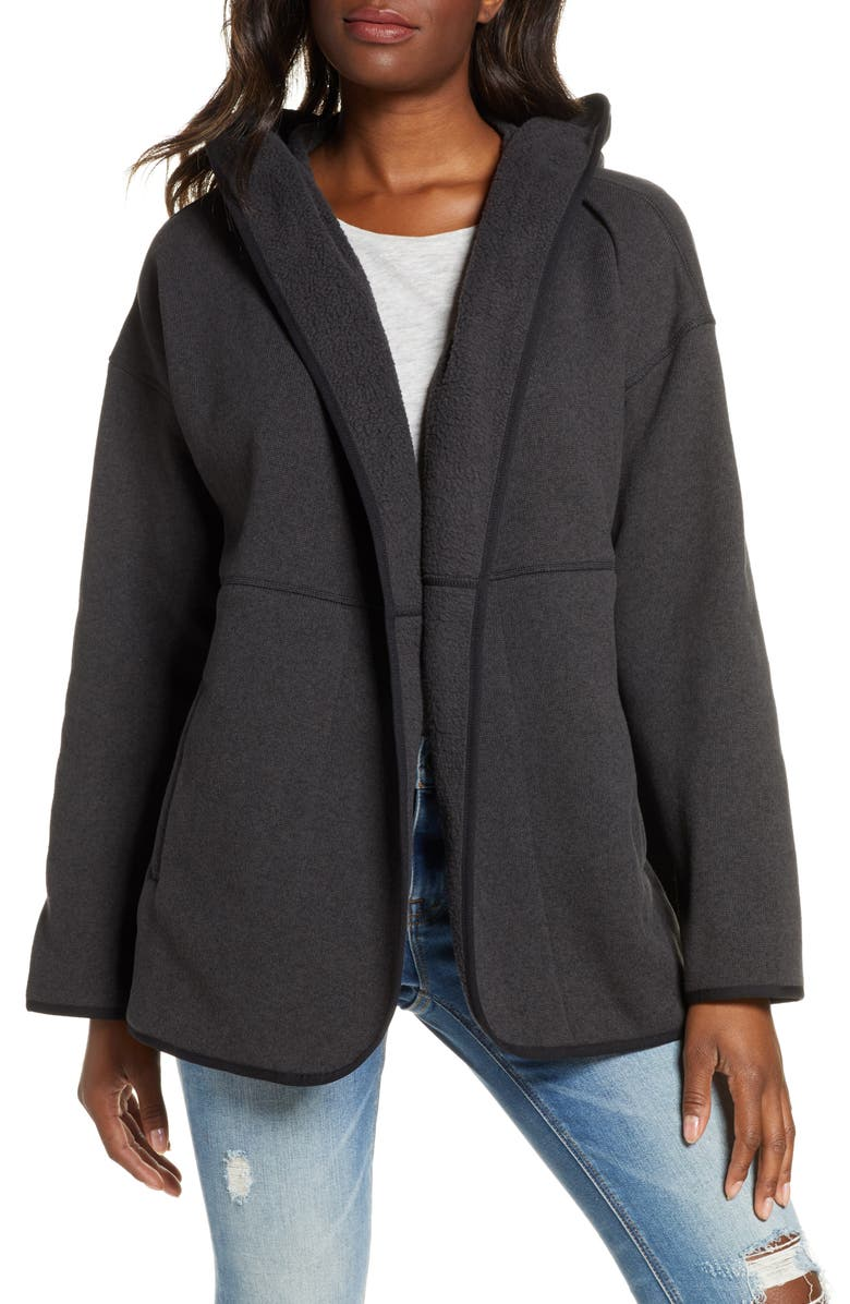 THE NORTH FACE Crescent Wrap, Main, color, TNF BLACK HEATHER