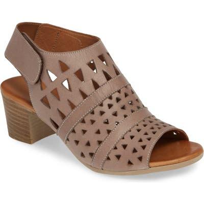 Sheridan Mia Tamsie1 Perforated Sandal - Beige
