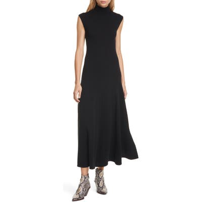 Polo Ralph Lauren Cashmere Midi Sweater Dress, Black