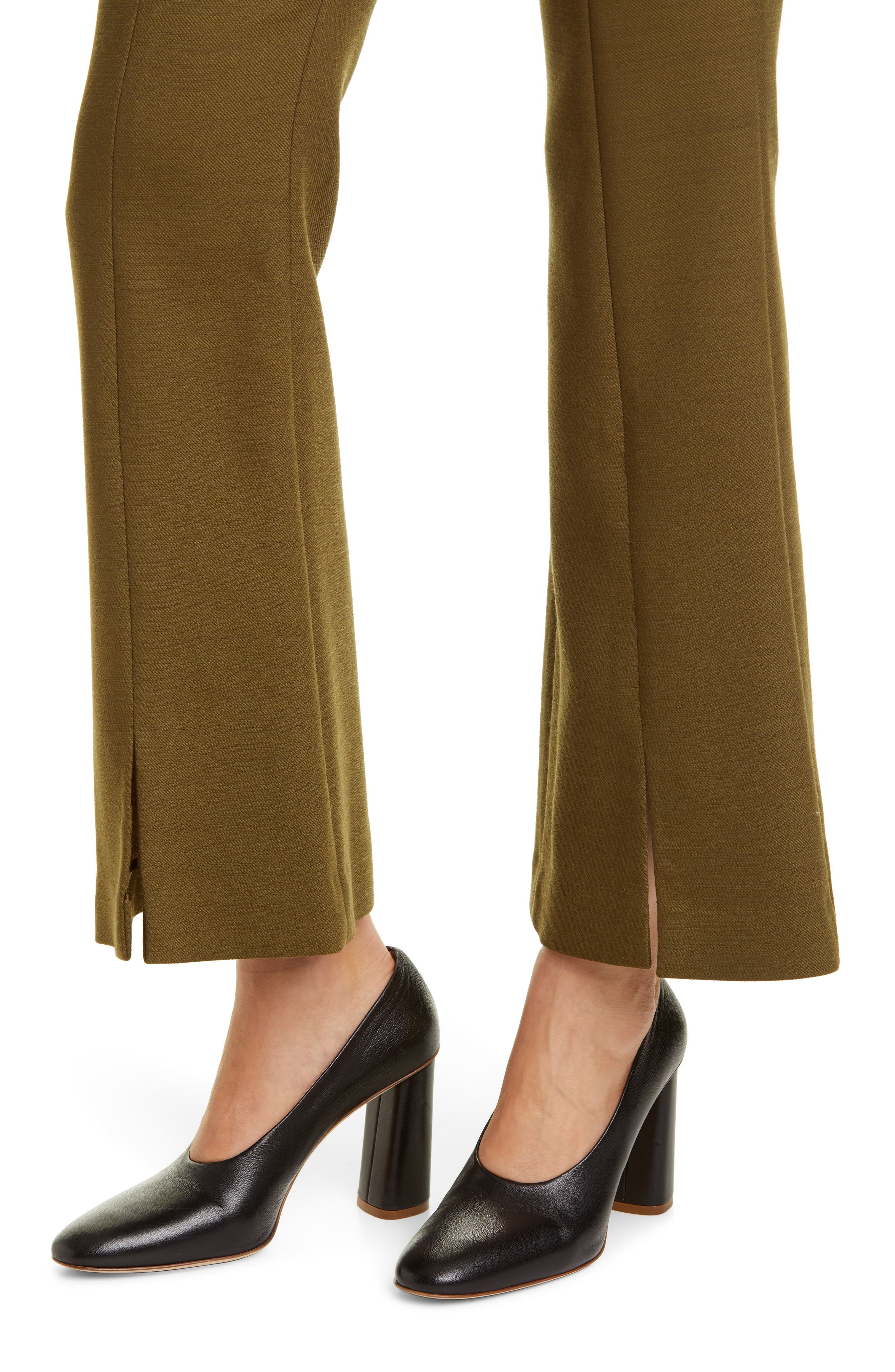 Adam Lippes Pants Double Face Bell Crop Pants
